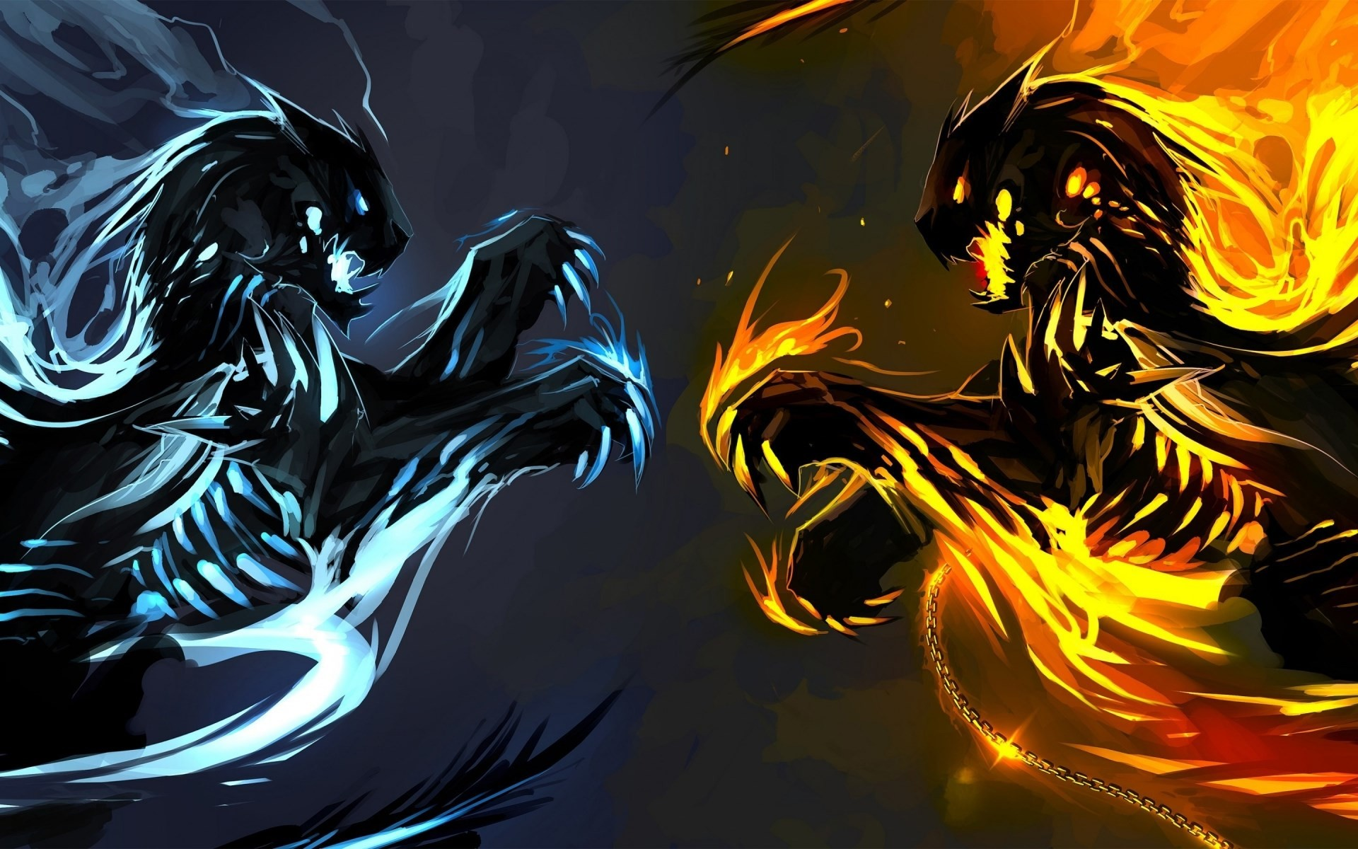 Cool Fire Backgrounds (66+ images)