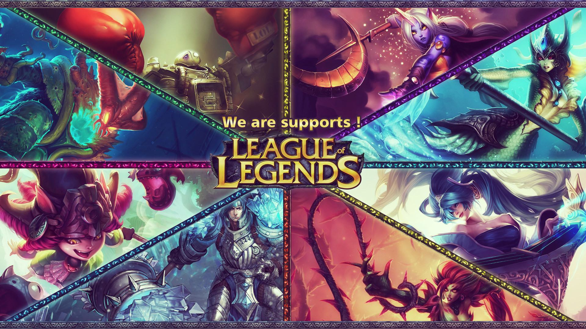League Of Legends Support Wallpaper 81 Images