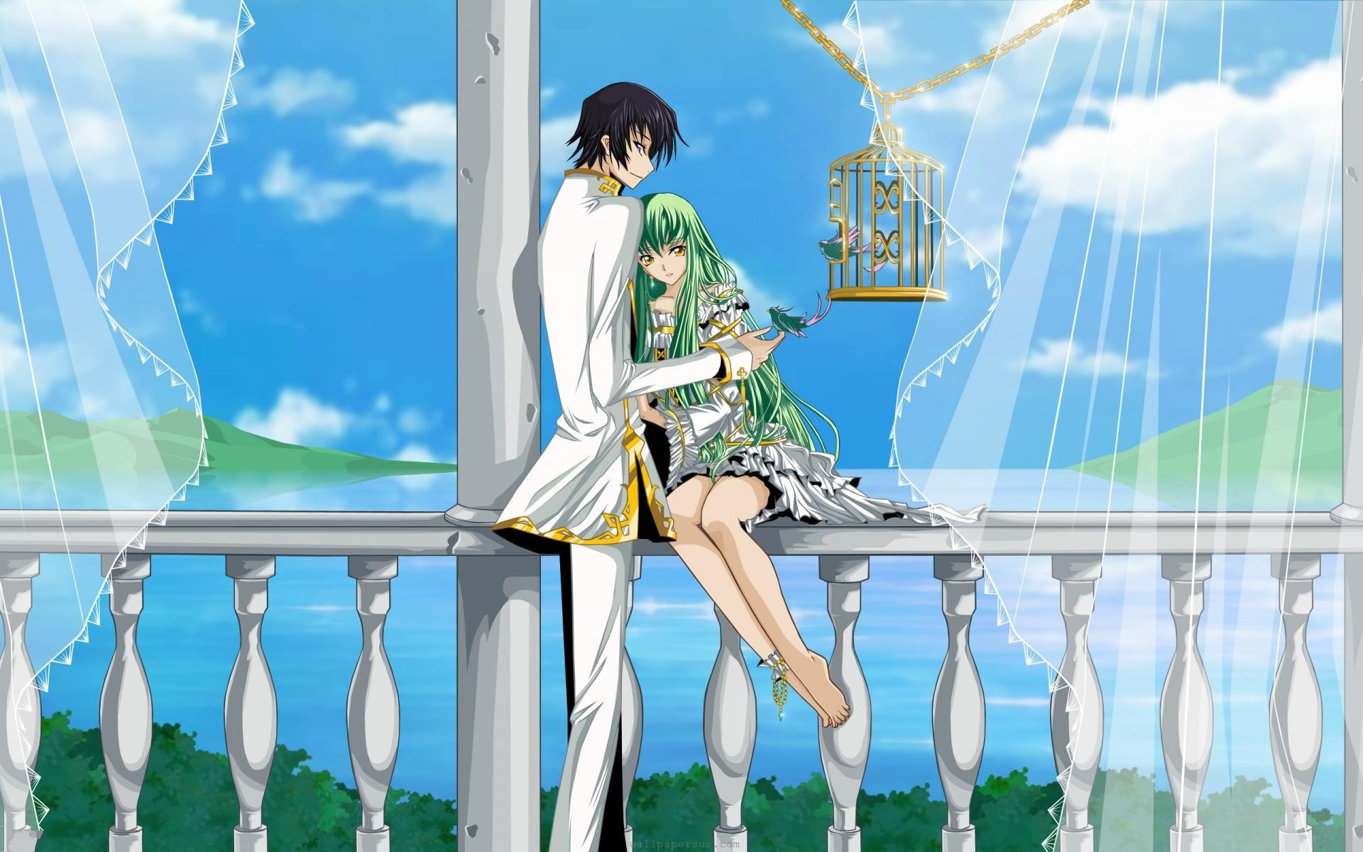 1920x1200 Wallpapers Love Couple Code Geass Anime Boy Cute Girl Us Com  |  #237702 #love couple | Lelouch vi Britannia-Code Geass | Pinterest | Code  geass, ...