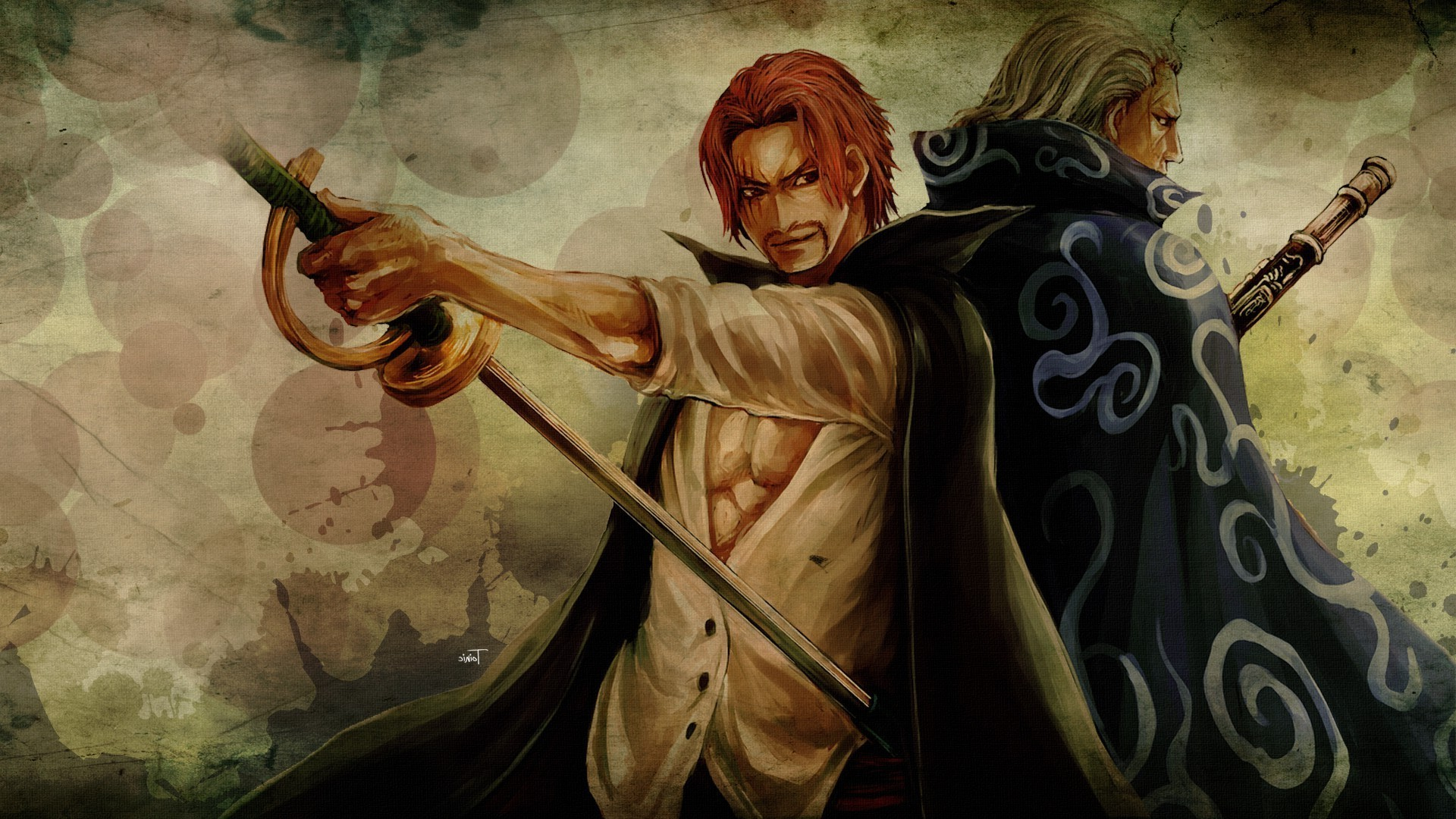1920x1080 One Piece Wallpapers Shanks by Janet Nagao #9
