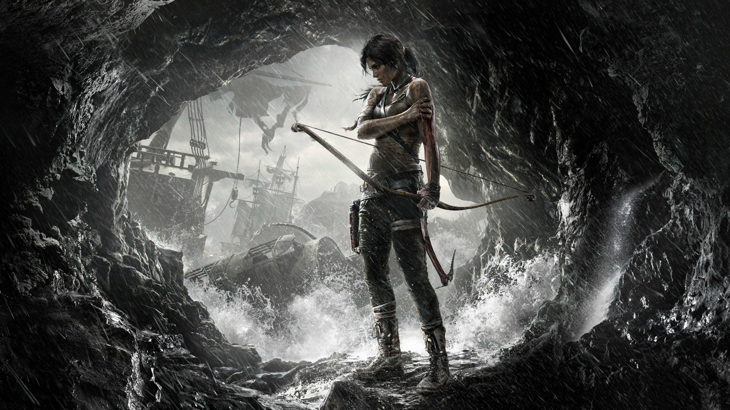 2560x1440 Tomb Raider Game dsdsdBackground HD Wallpaper Cose da