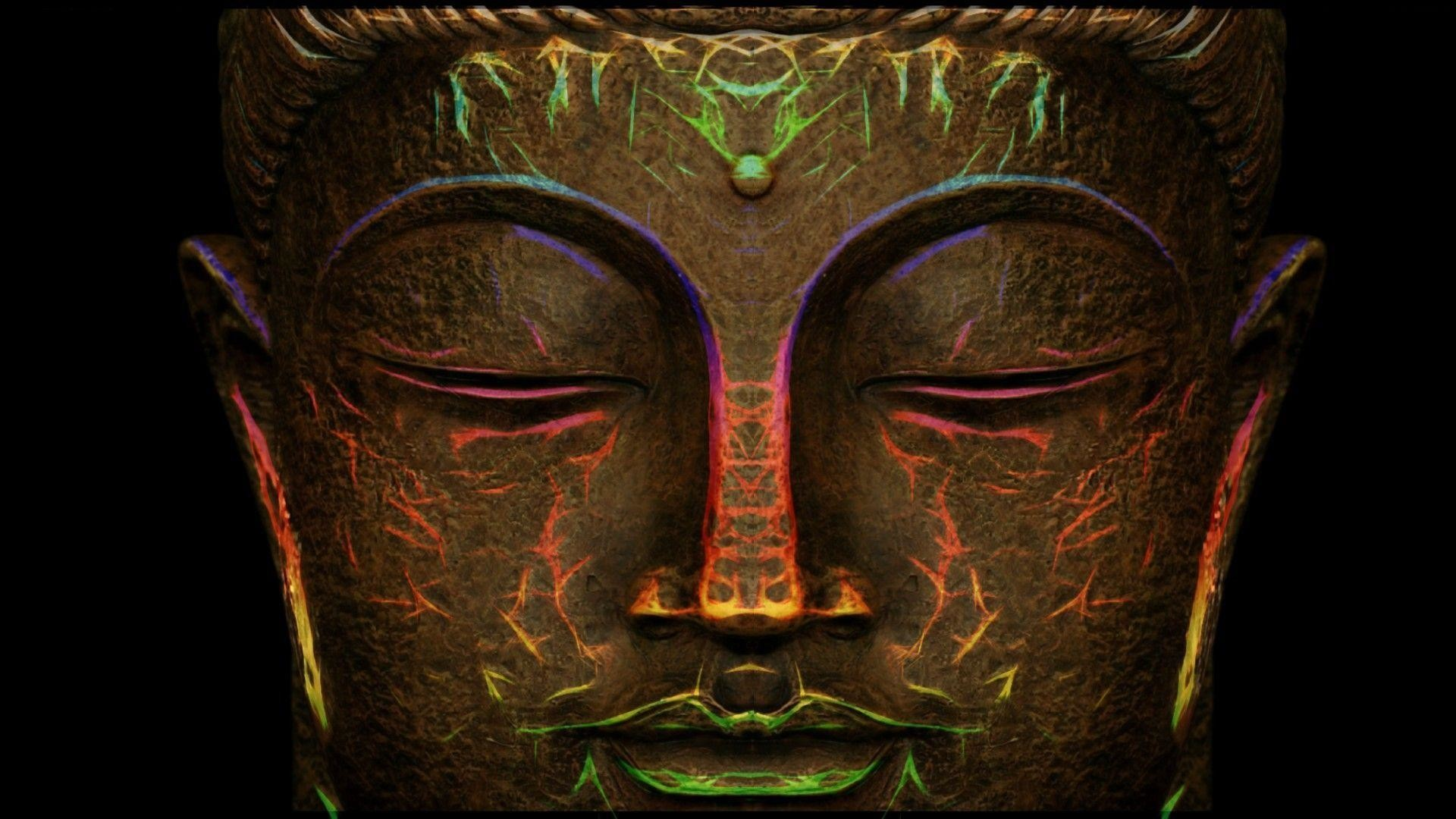 1920x1080 Images For Trippy Buddha Wallpaper