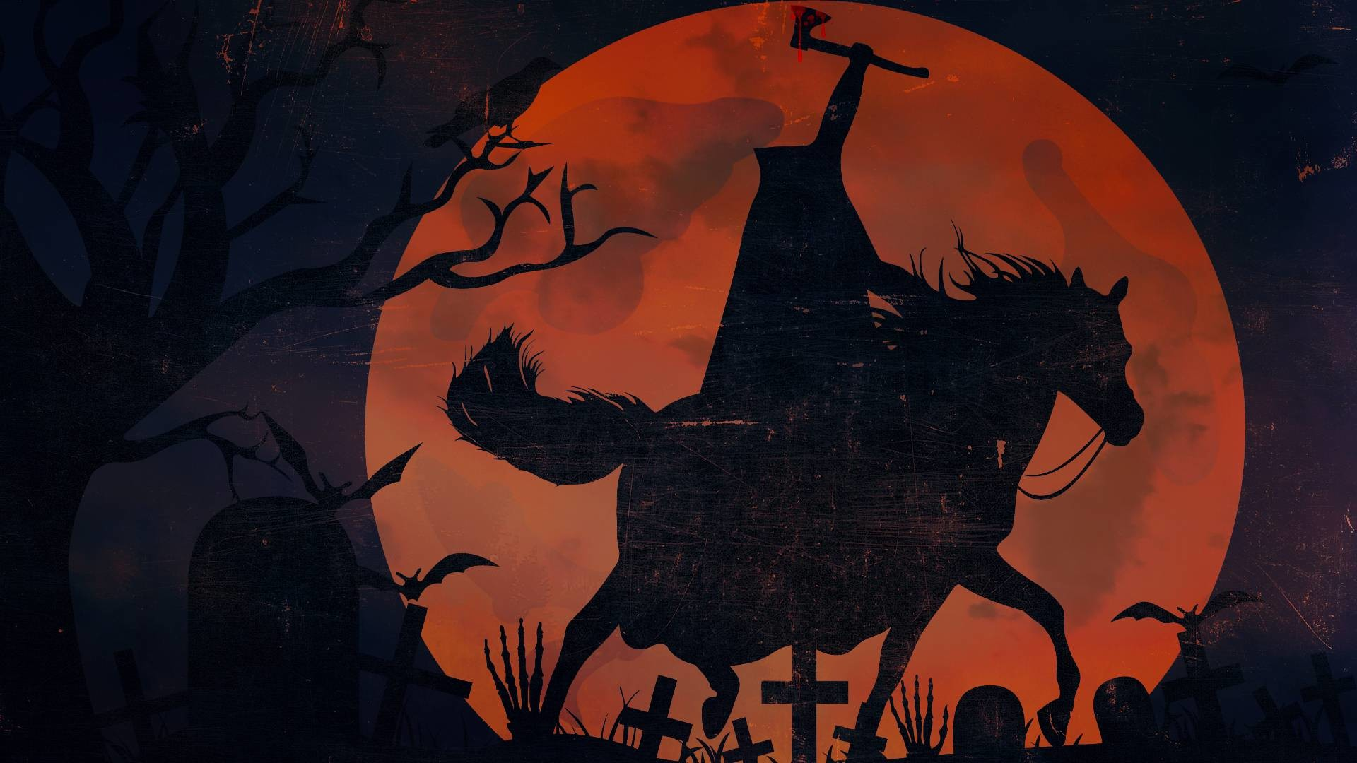 1920x1080 Pix For > Headless Horseman Desktop Wallpaper