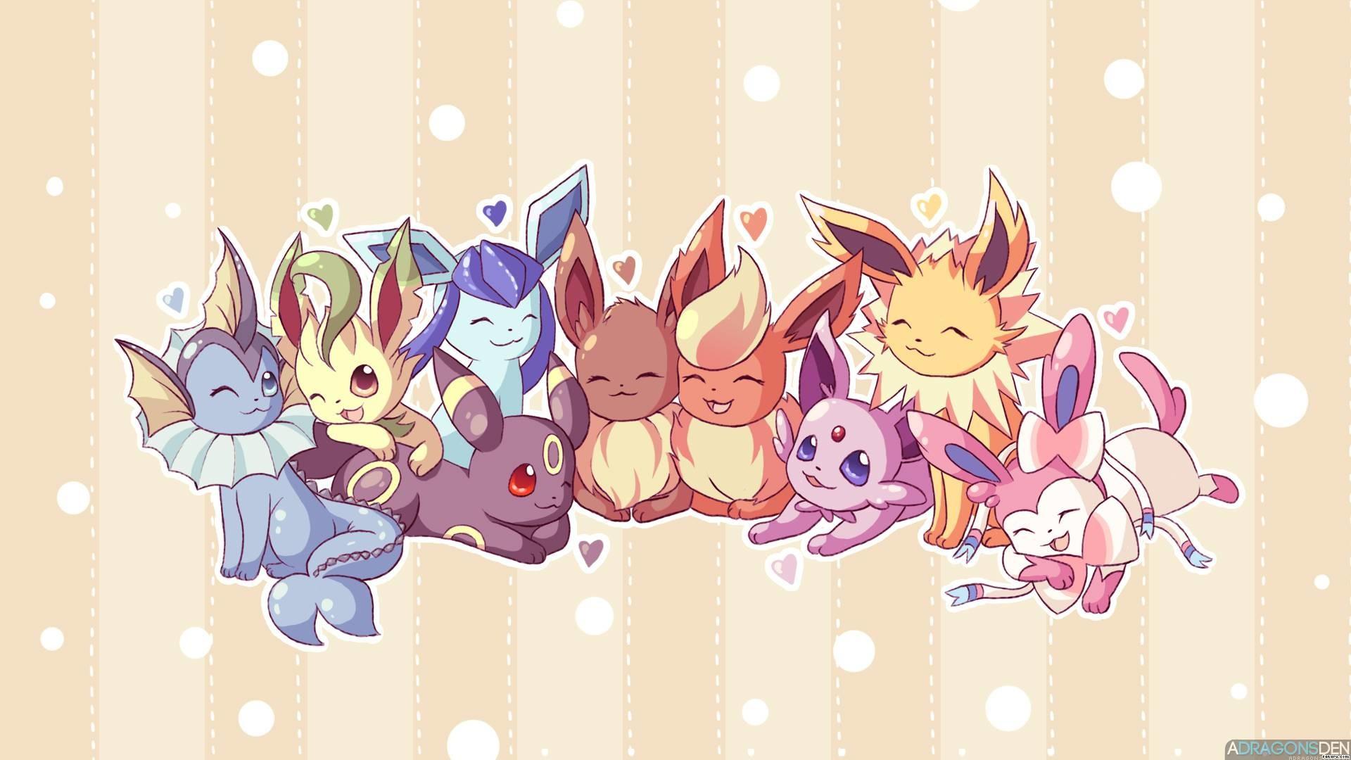 cute eevee evolutions wallpaper 64 images