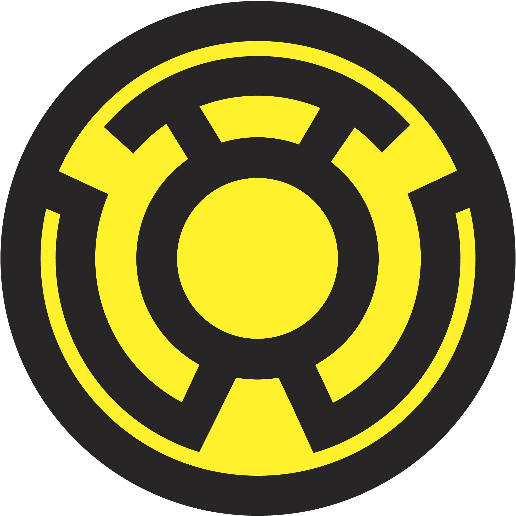 2100x2100 Sinestro Corps by DHLarson Sinestro Corps by DHLarson
