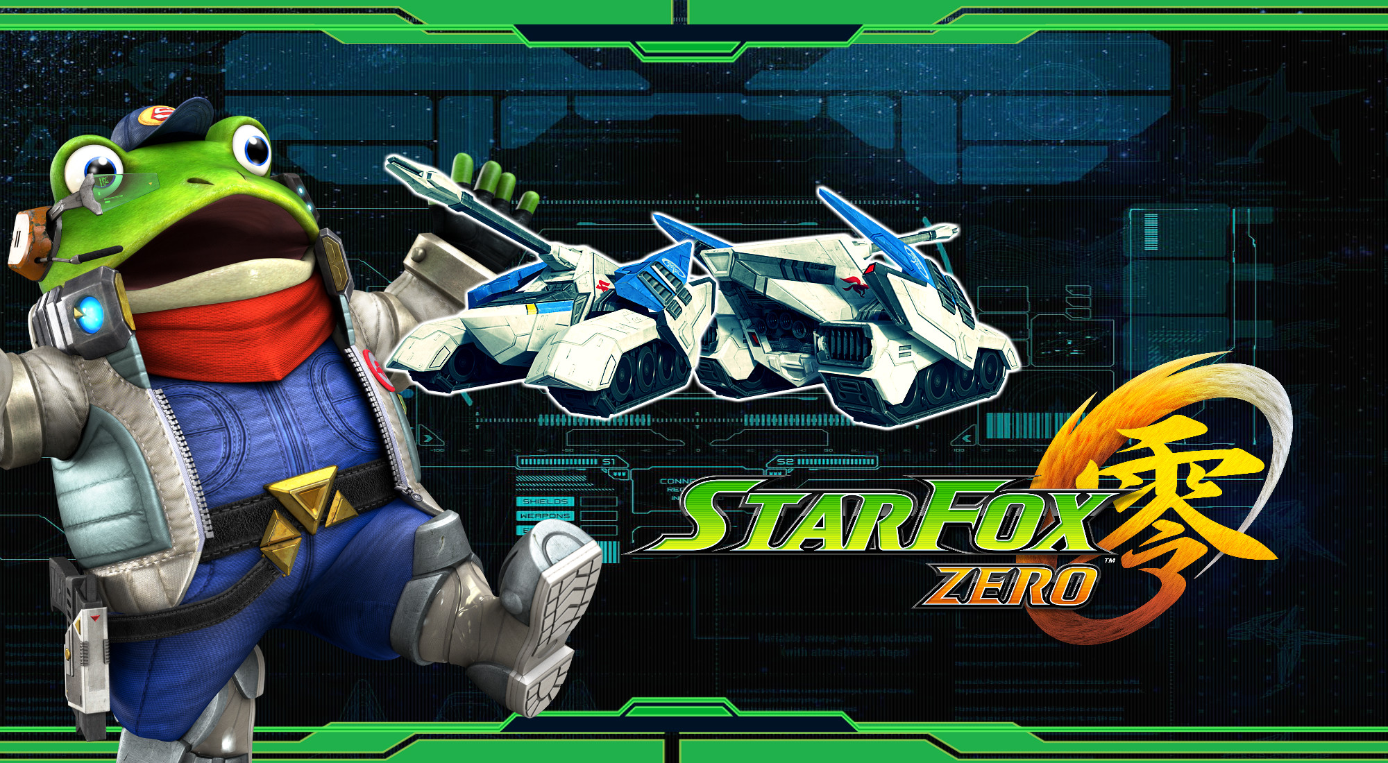 2000x1100 ... Star Fox Zero - Landmaster Wallpaper by DaKidGaming