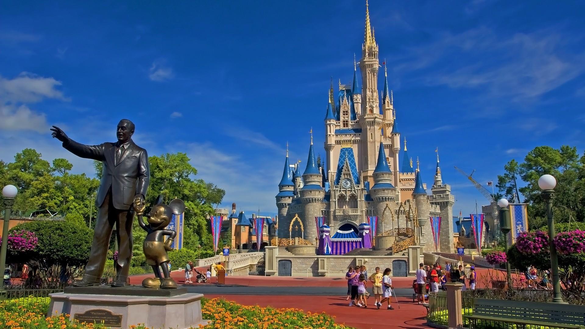 High Resolution Disney Wallpaper: Walt Disney World HD Wallpaper (71+ Images