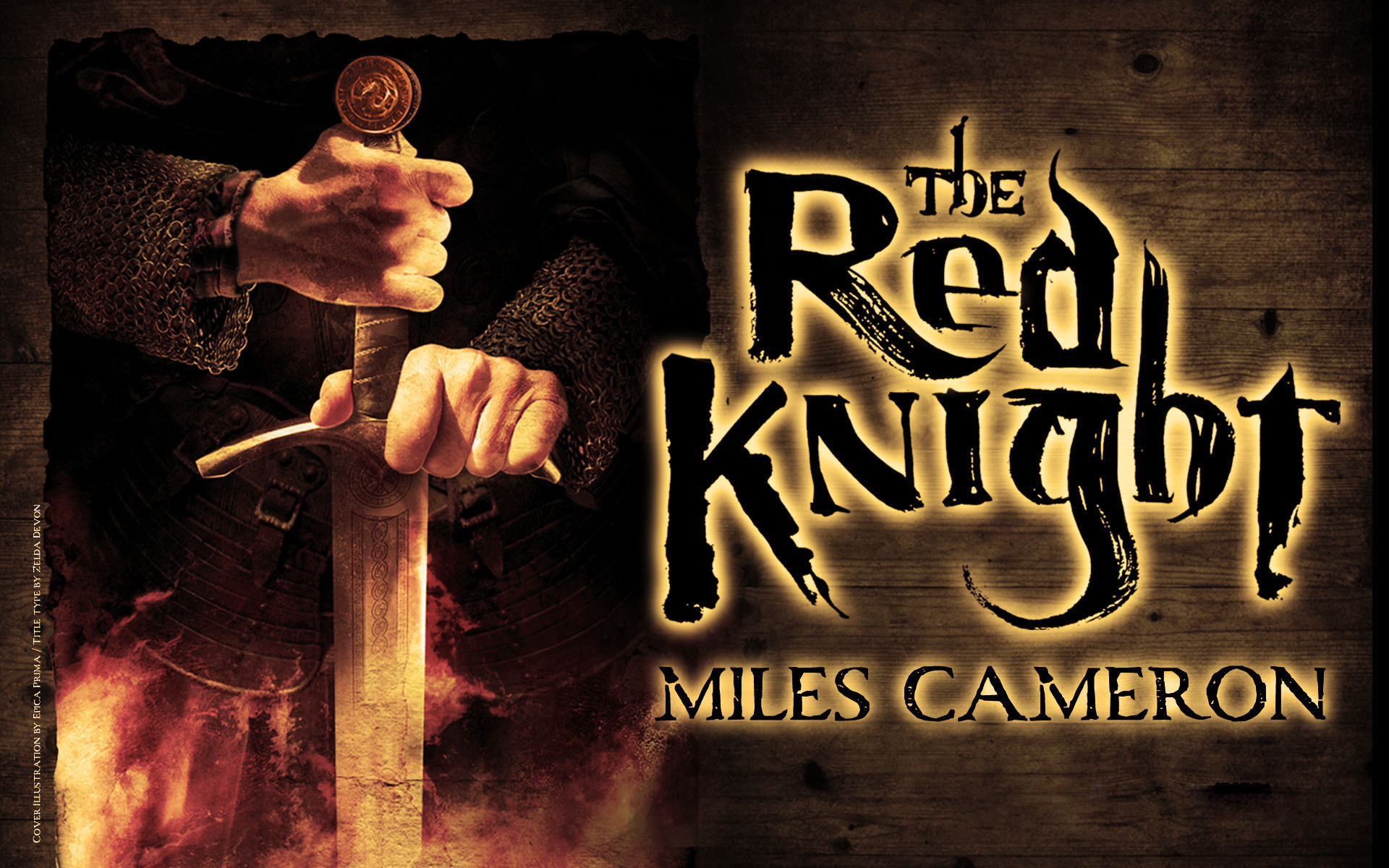 1920x1200 Wallpaper: THE RED KNIGHT by Miles Cameron