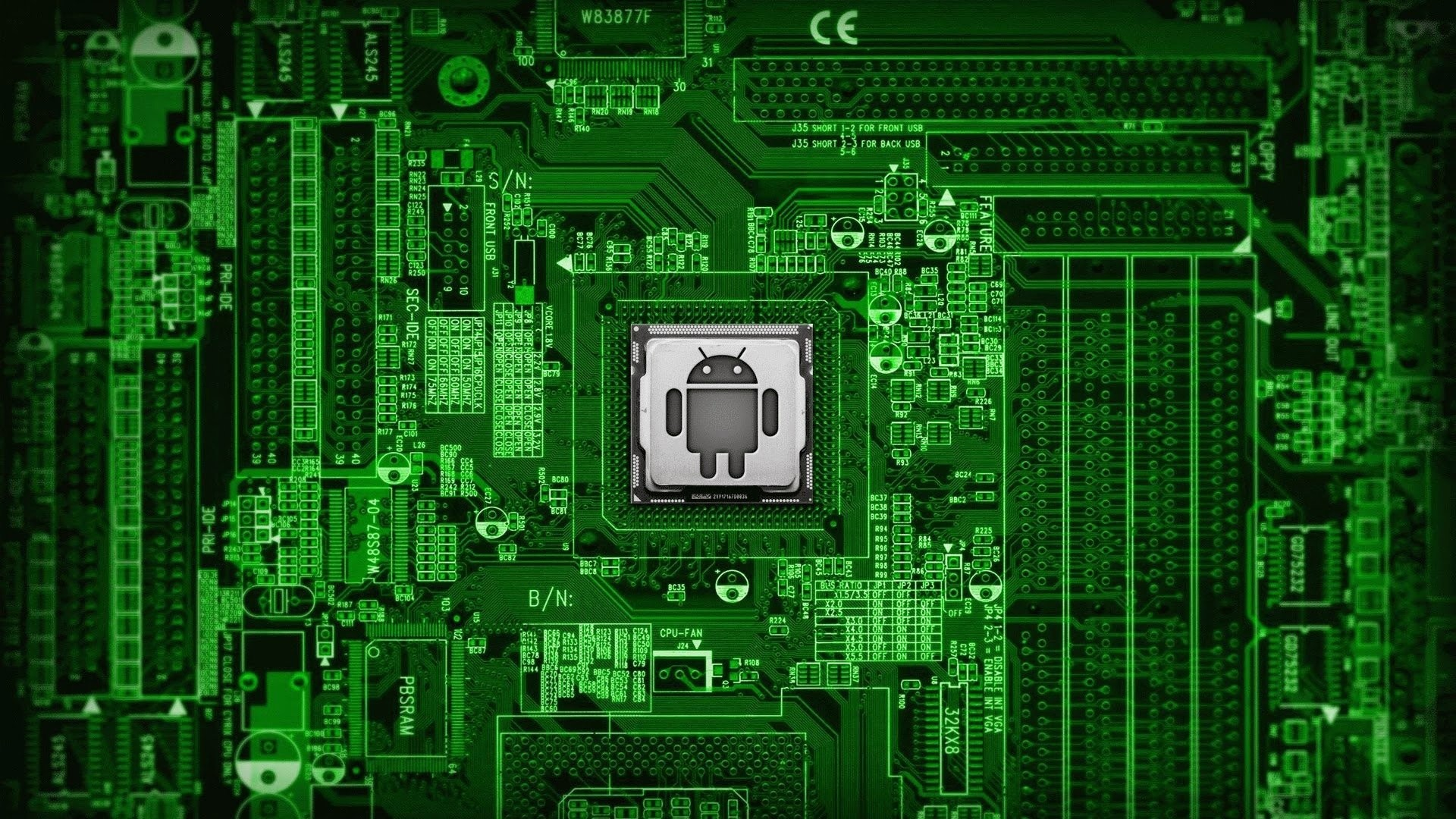 Computer Circuit Wallpaper 68 Images Electronic 1920x1200 Arts Gallery For Hi Res Interface