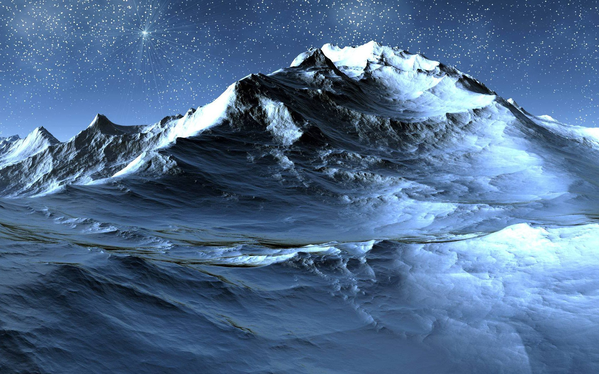 1920x1200 ... icy-mountain ...