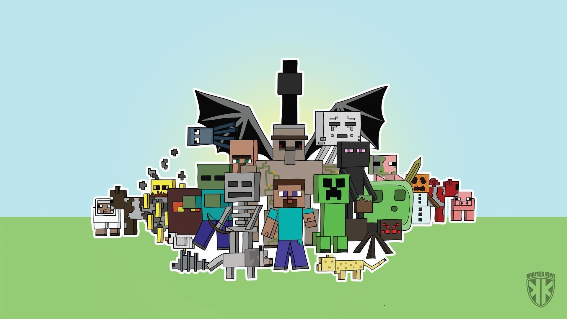 Epic Minecraft Backgrounds (72+ images)