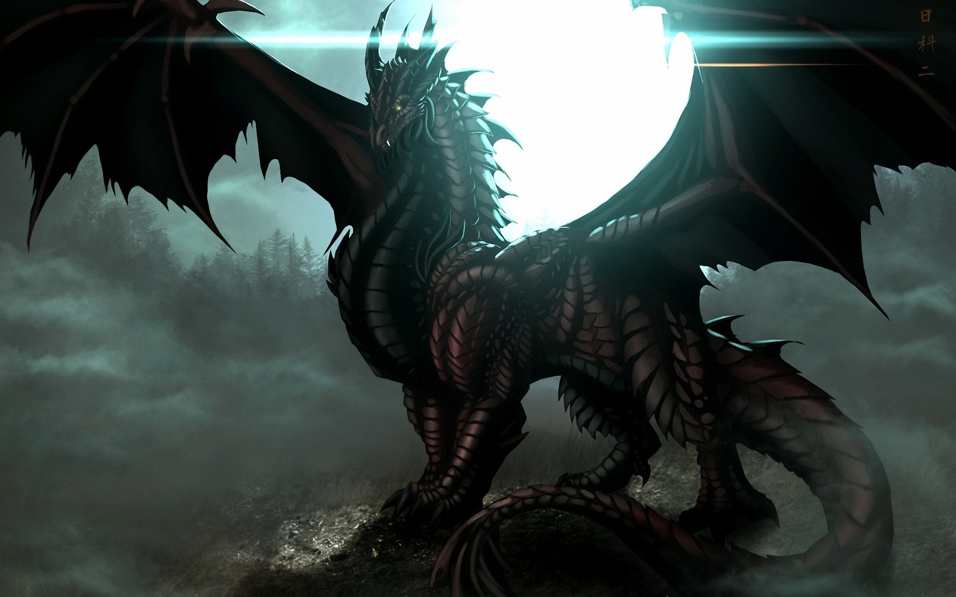1920x1080 DeviantArt More Like Black Rose Dragon Wallpaper By RJGiel