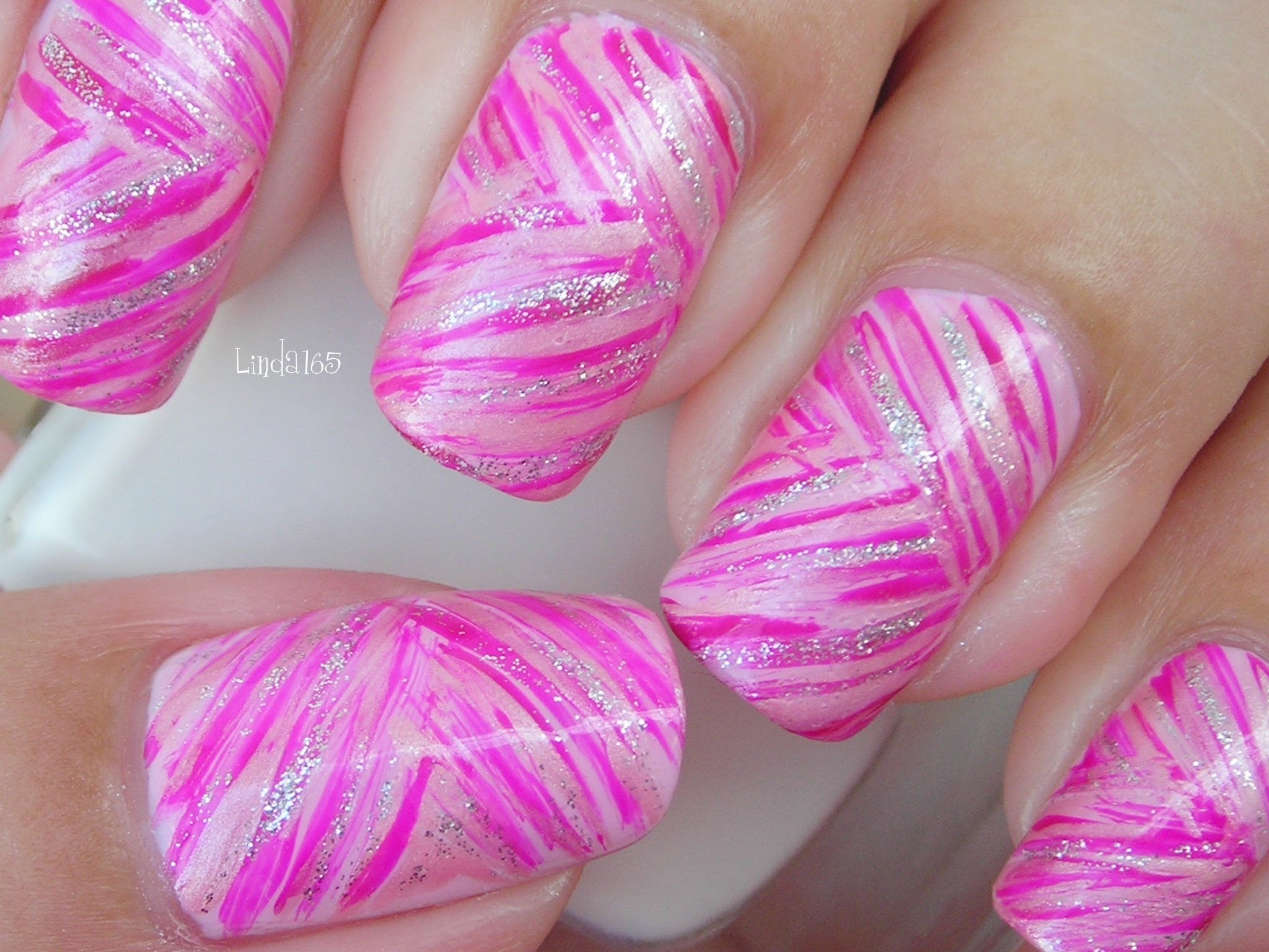2048x1536 Nail Art - October in Pink: Pink Ribbons - Decoración de uñas - Breast  Cancer Awareness Month - YouTube