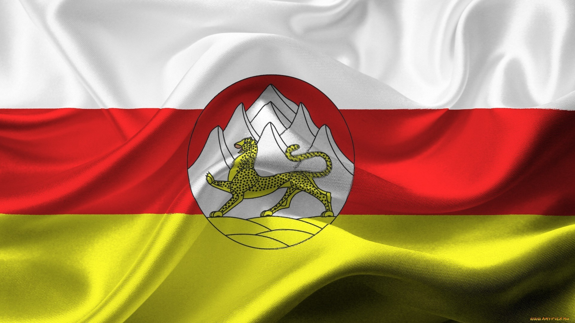 1920x1080 Flag of South Ossetia wallpaper