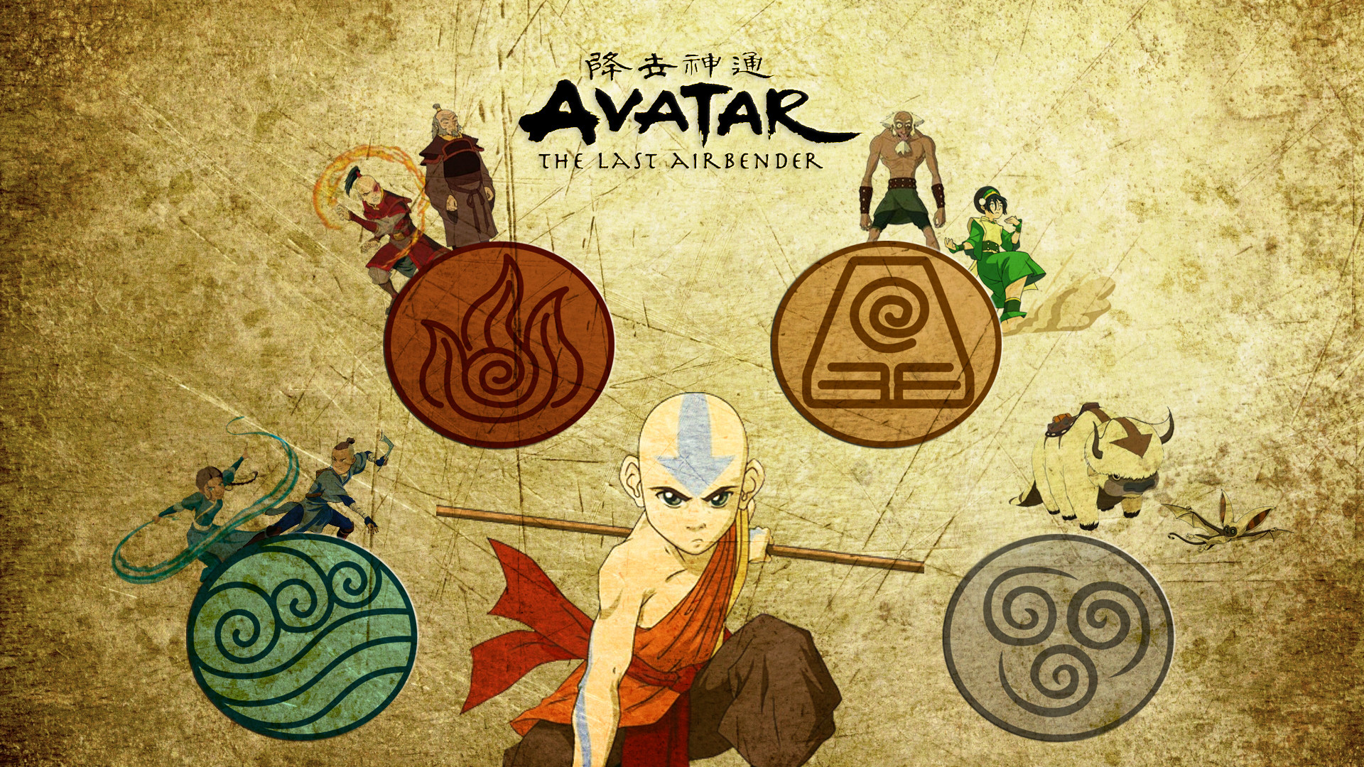 1920x1080 Avatar The Last Airbender Wallpaper Aang High Definition For HD Desktop Px KB
