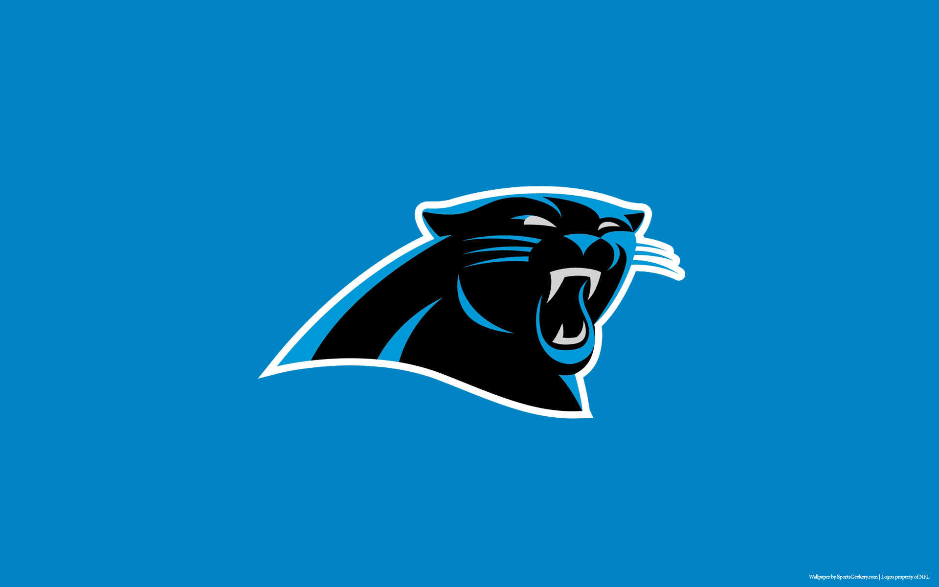 carolina panthers logo wallpaper  Carolina Panthers Logo Wallpaper (59  images)