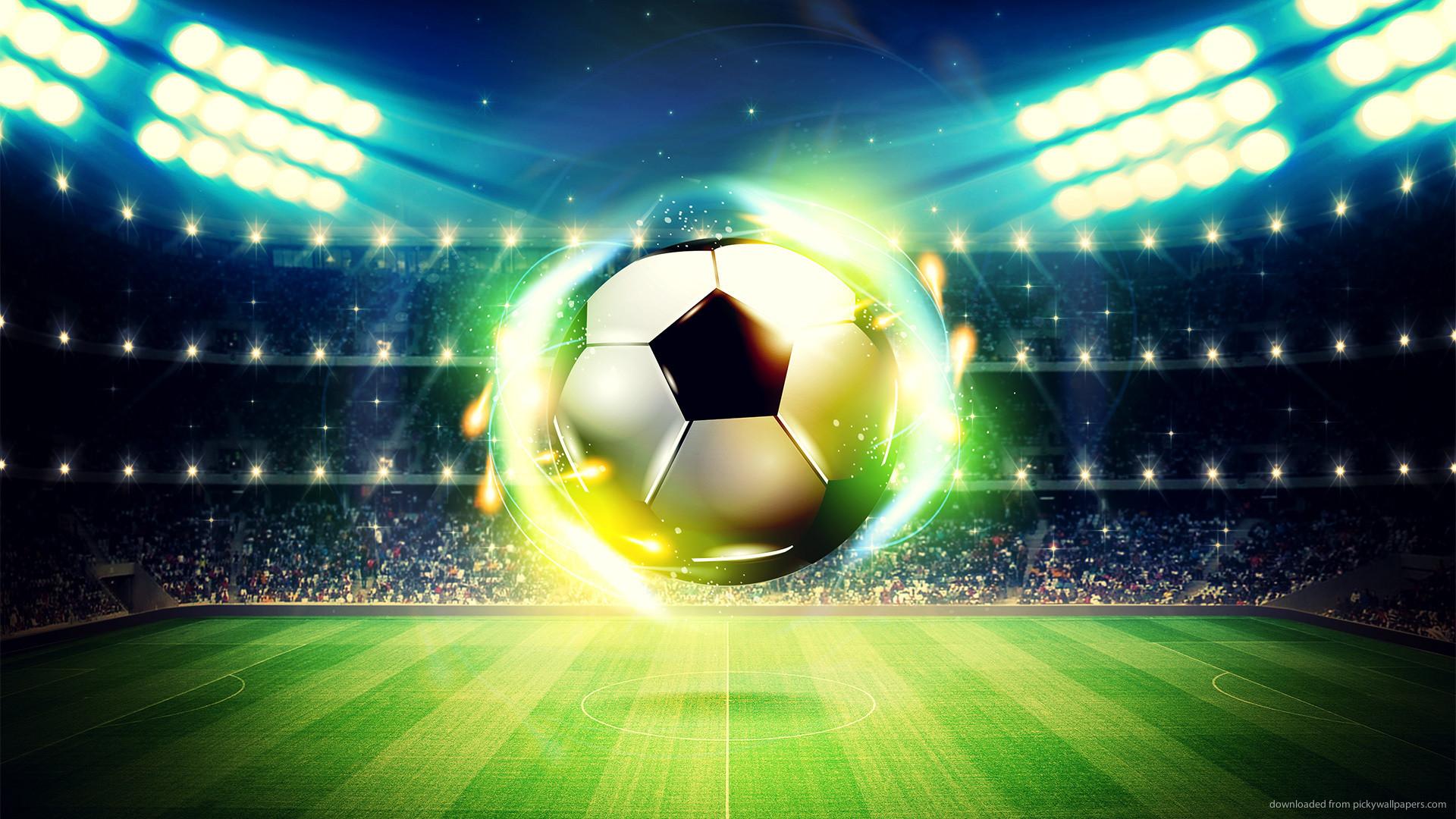 Cool soccer ball wallpaper
