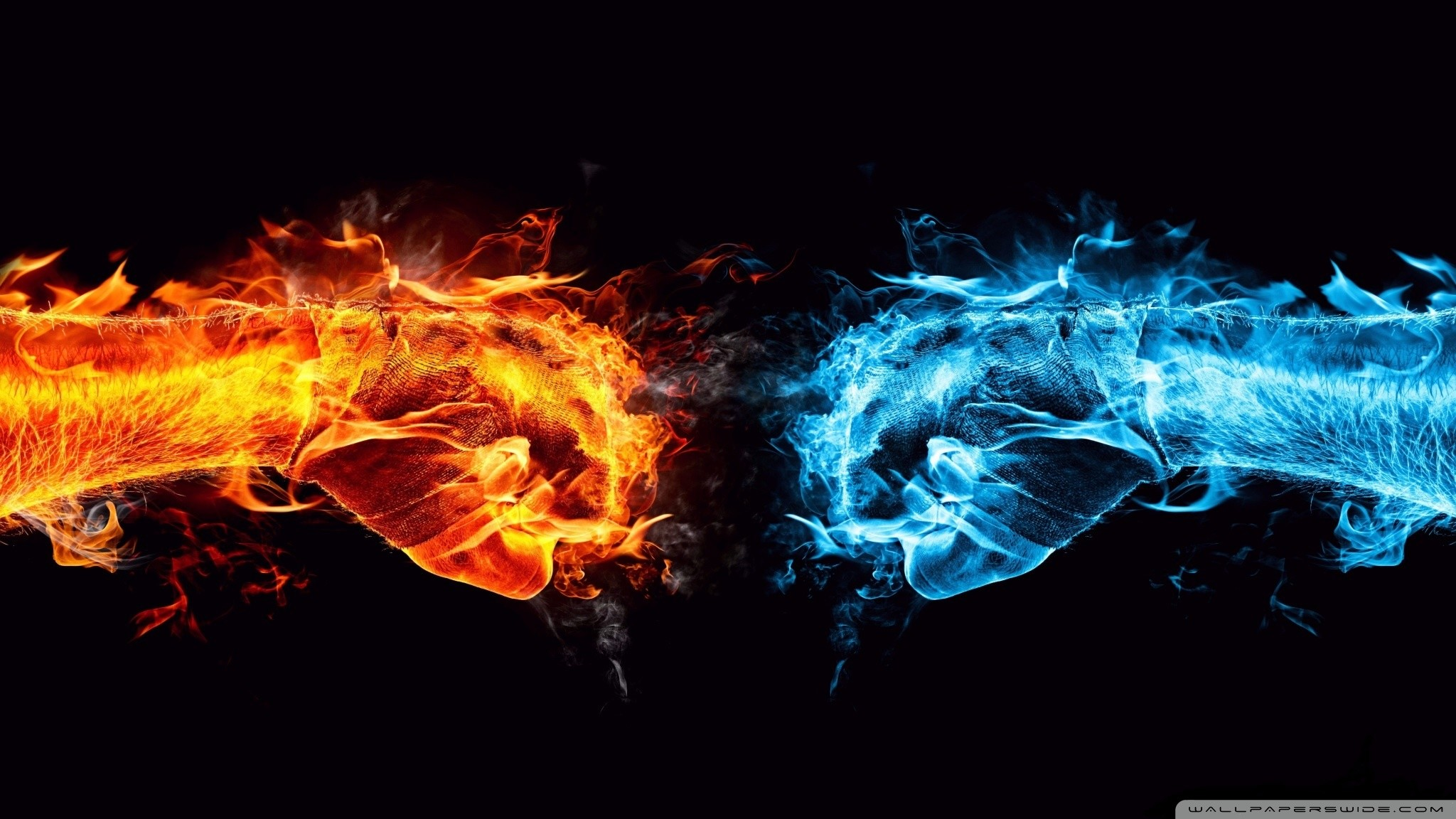 2048x1152 Fire And Ice Awesome Photo | 4288903 Fire And Ice Wallpapers,