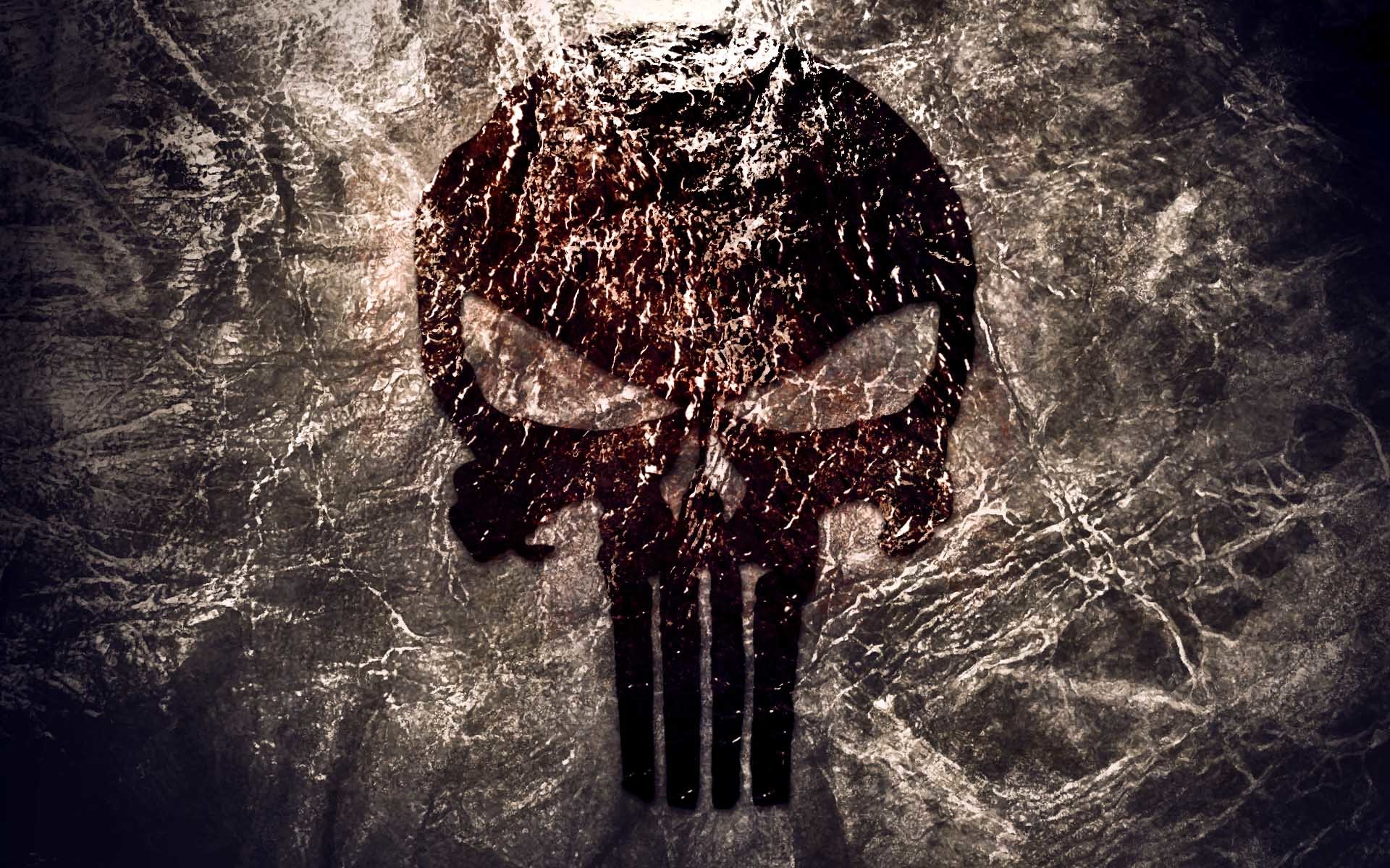 1920x1200 The Punisher Texture Logo Wallpaper Download Wallpaper from .