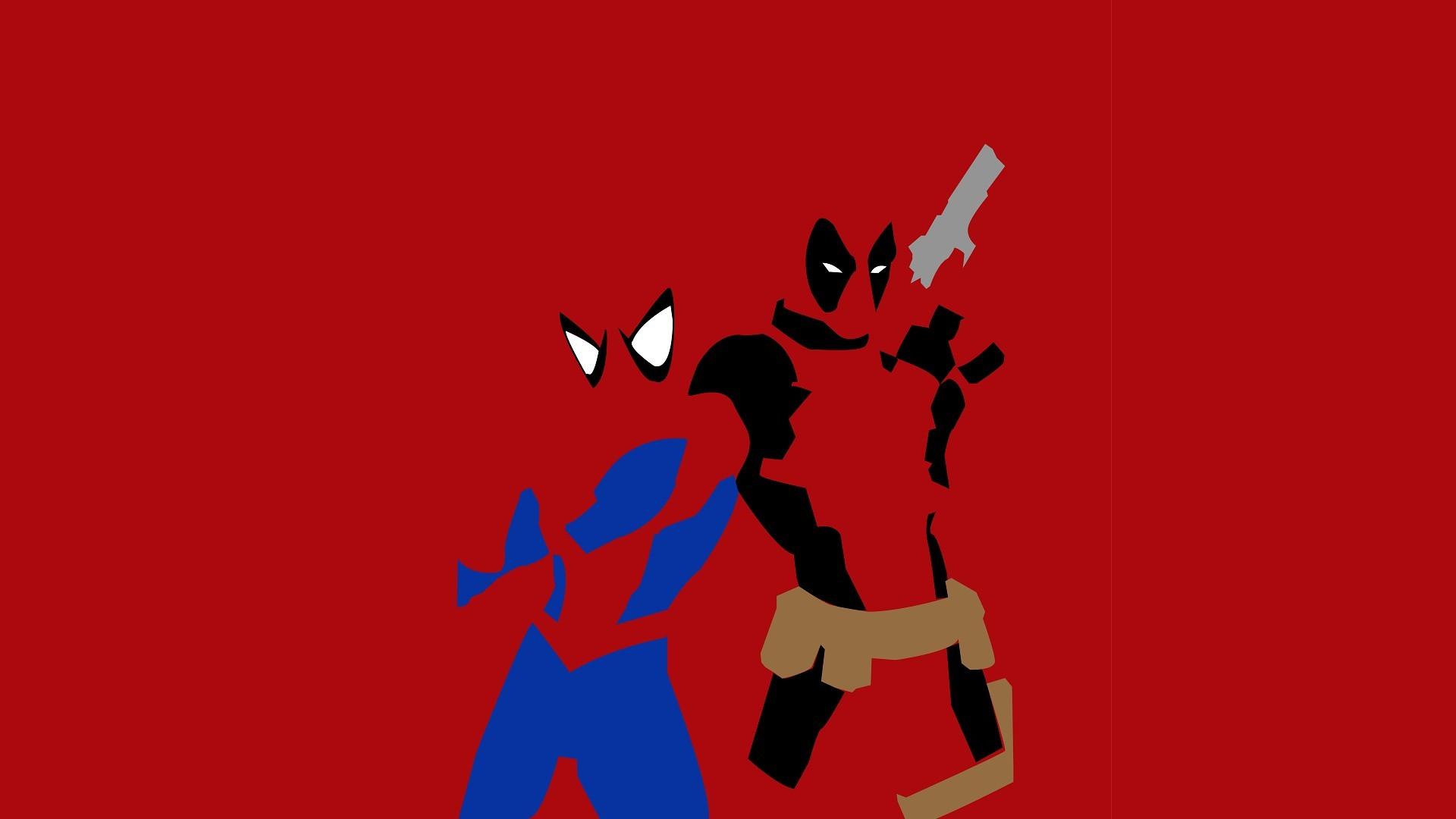 1920x1080 Spider Man Deadpool Wallpapers HD Free