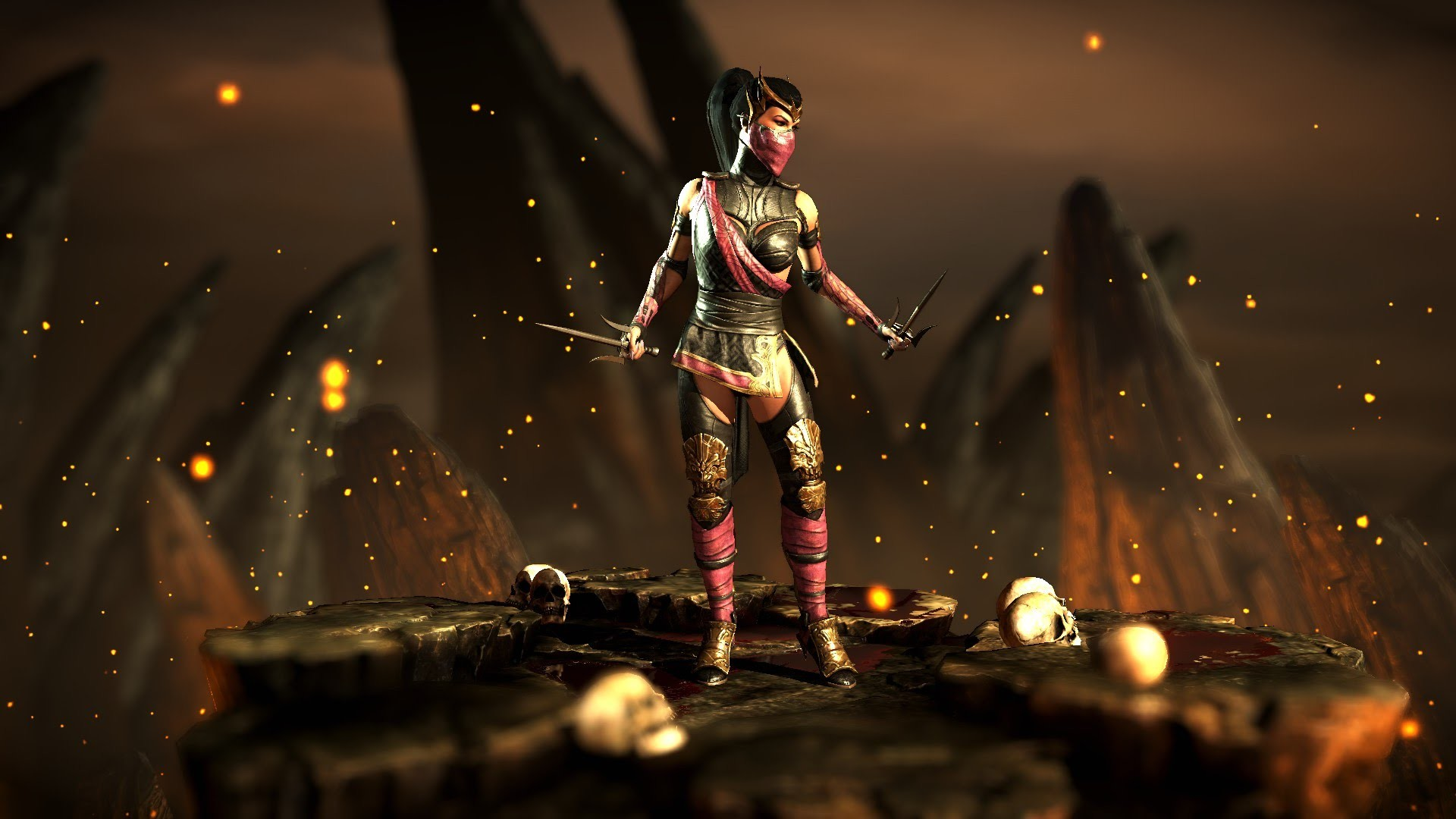 Mortal kombat kitana cosplay - 2 1
