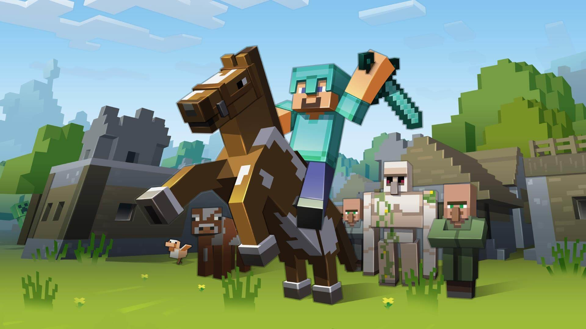 1920x1080 Minecraft: Story Mode Wallpapers
