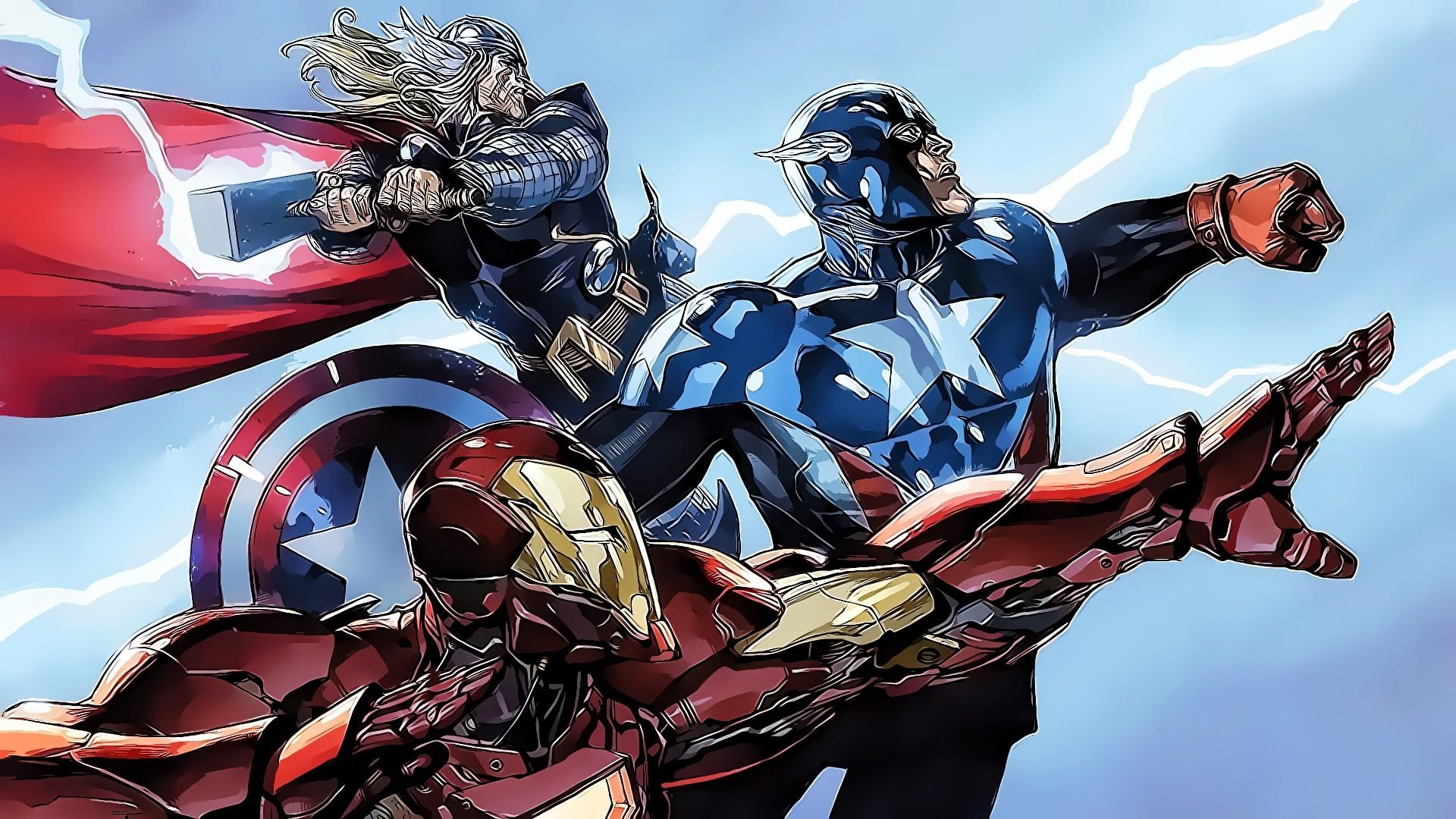 Captain Marvel Fantasy Art Wallpapers Hd Desktop And: Marvel Wallpaper HD (68+ Images