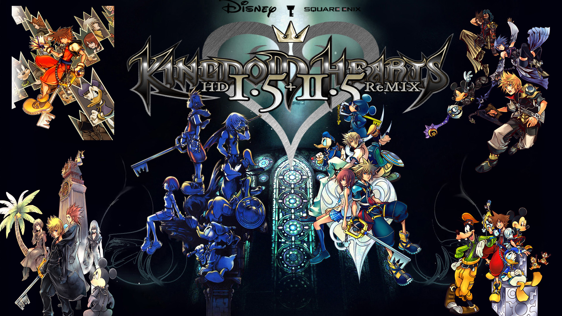 1920x1080 Kingdom Hearts Wallpapers HD5 600x338