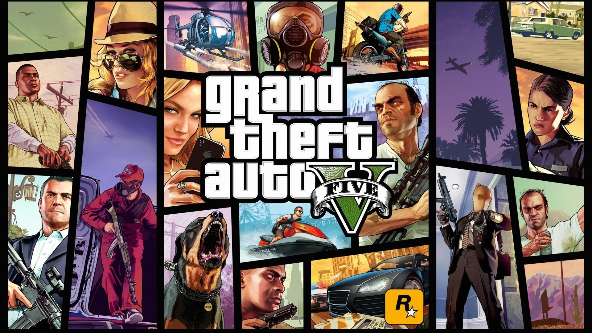 1920x1080 Grand Theft Auto V Wallpaper (Fanmade)HD 1980x1080 by .