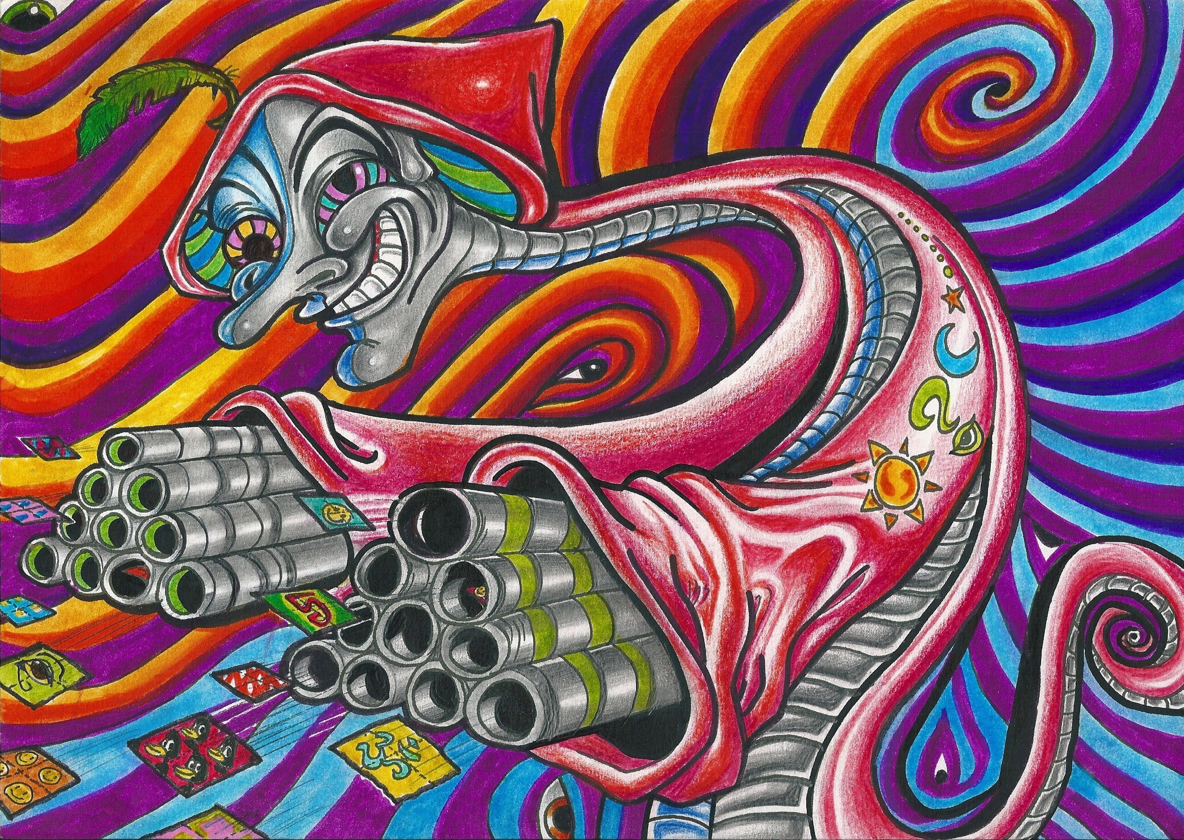 acid trip background trippy backgrounds tunnel pipes wallpapers flo psychedelic hippie sun wiki drawing pic deviantart shroom space joker drawings