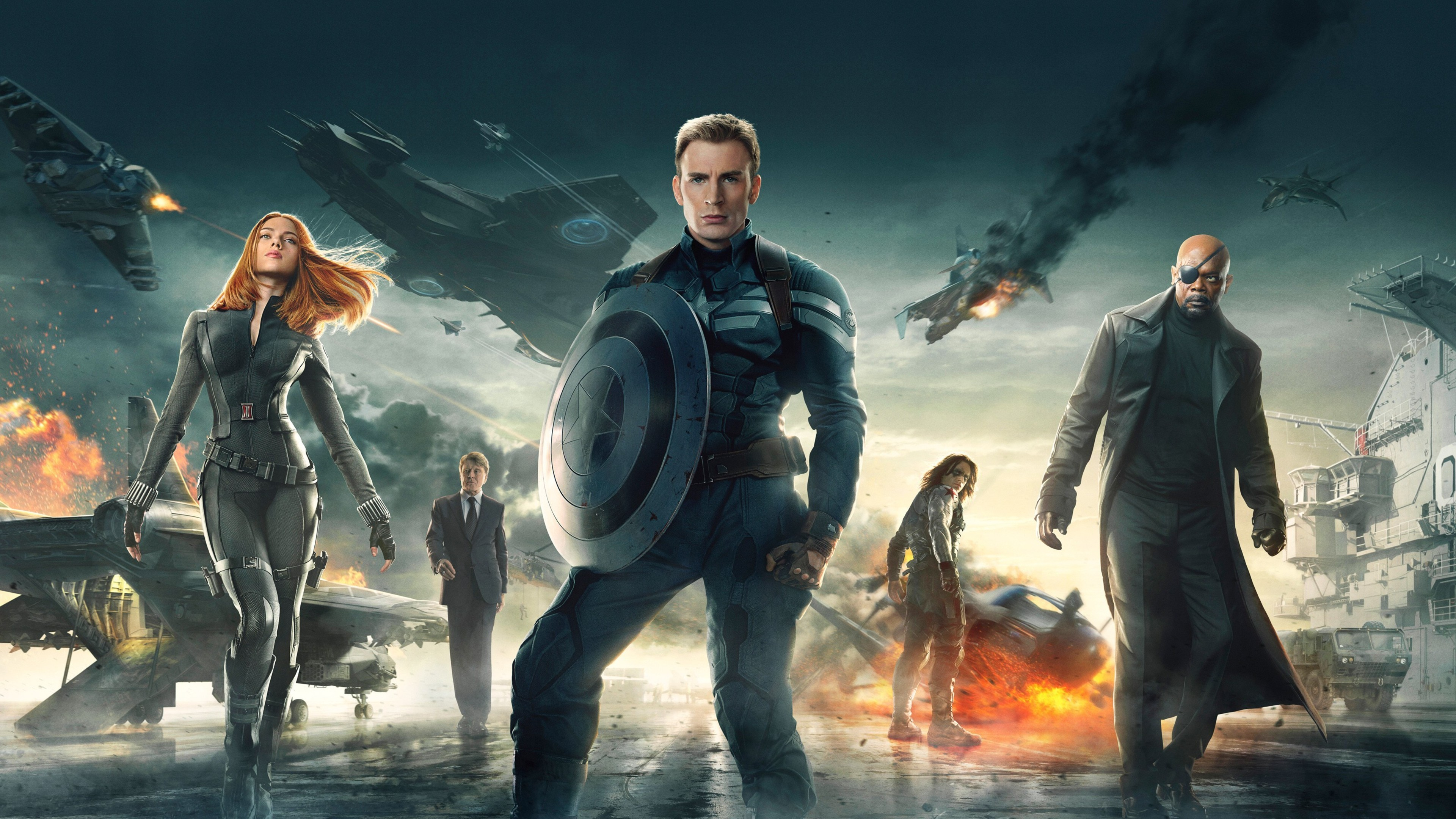 3840x2160 Captain America The Winter Soldier