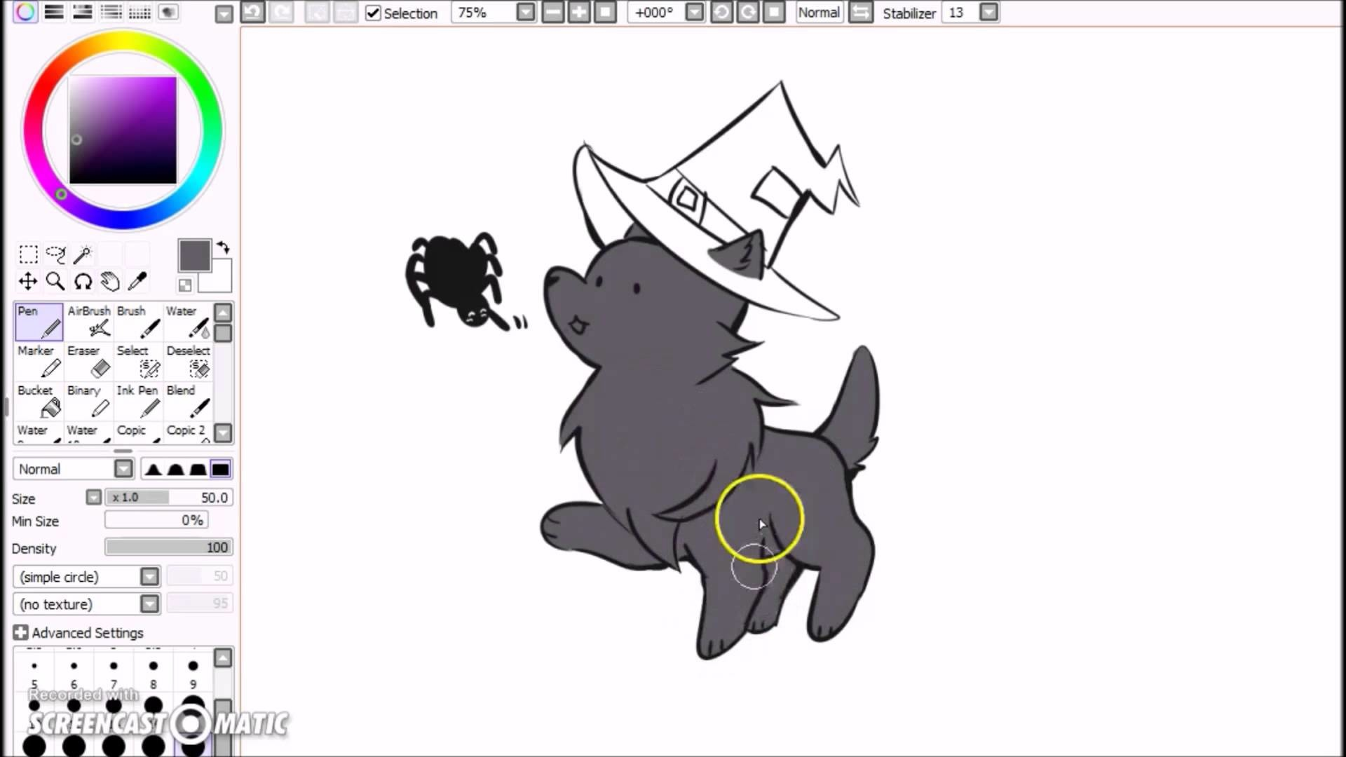 1920x1080 Ceph's Animal Jam Speedpaint: Halloween Arctic Wolf and Spider - YouTube