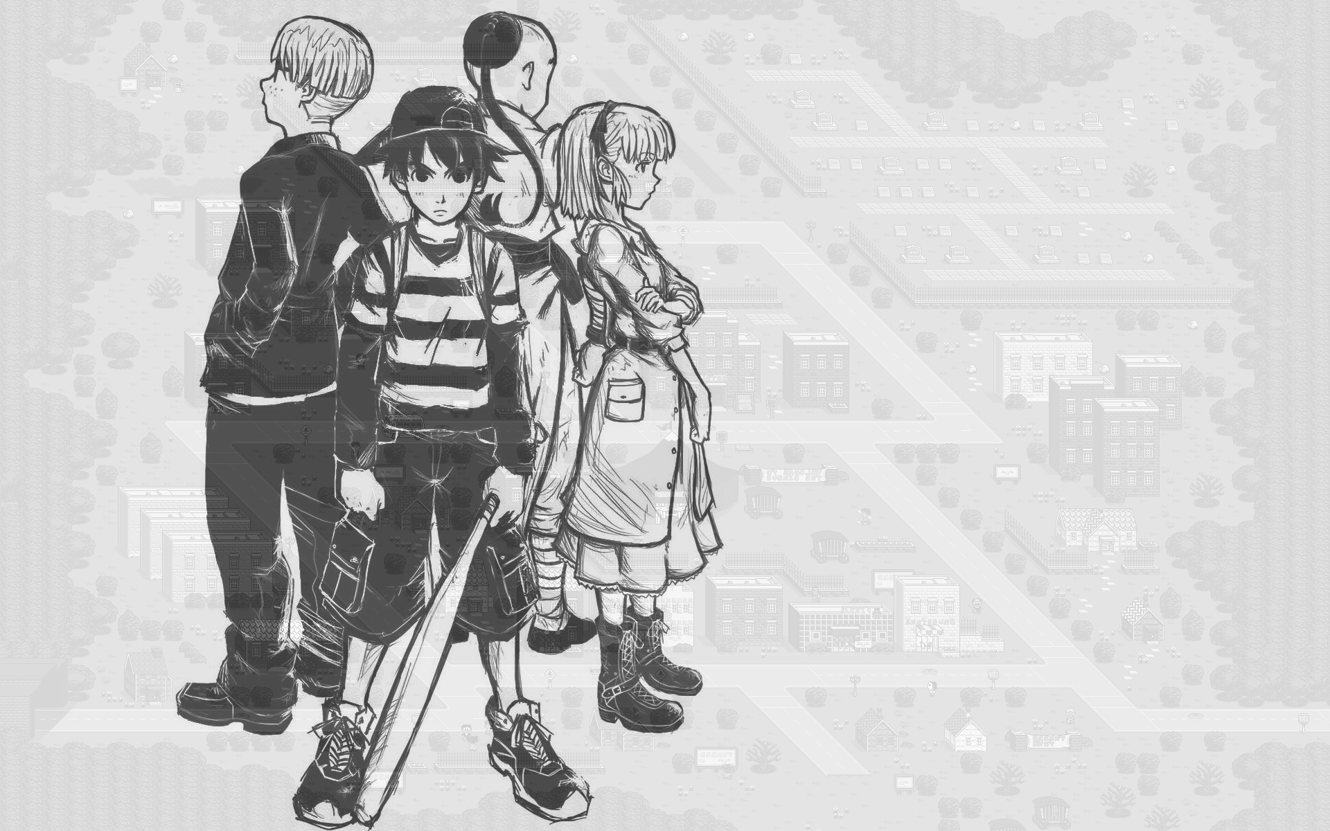 1920x1200 EarthBound HD Wallpaper 1920x1080 EarthBound HD Wallpaper