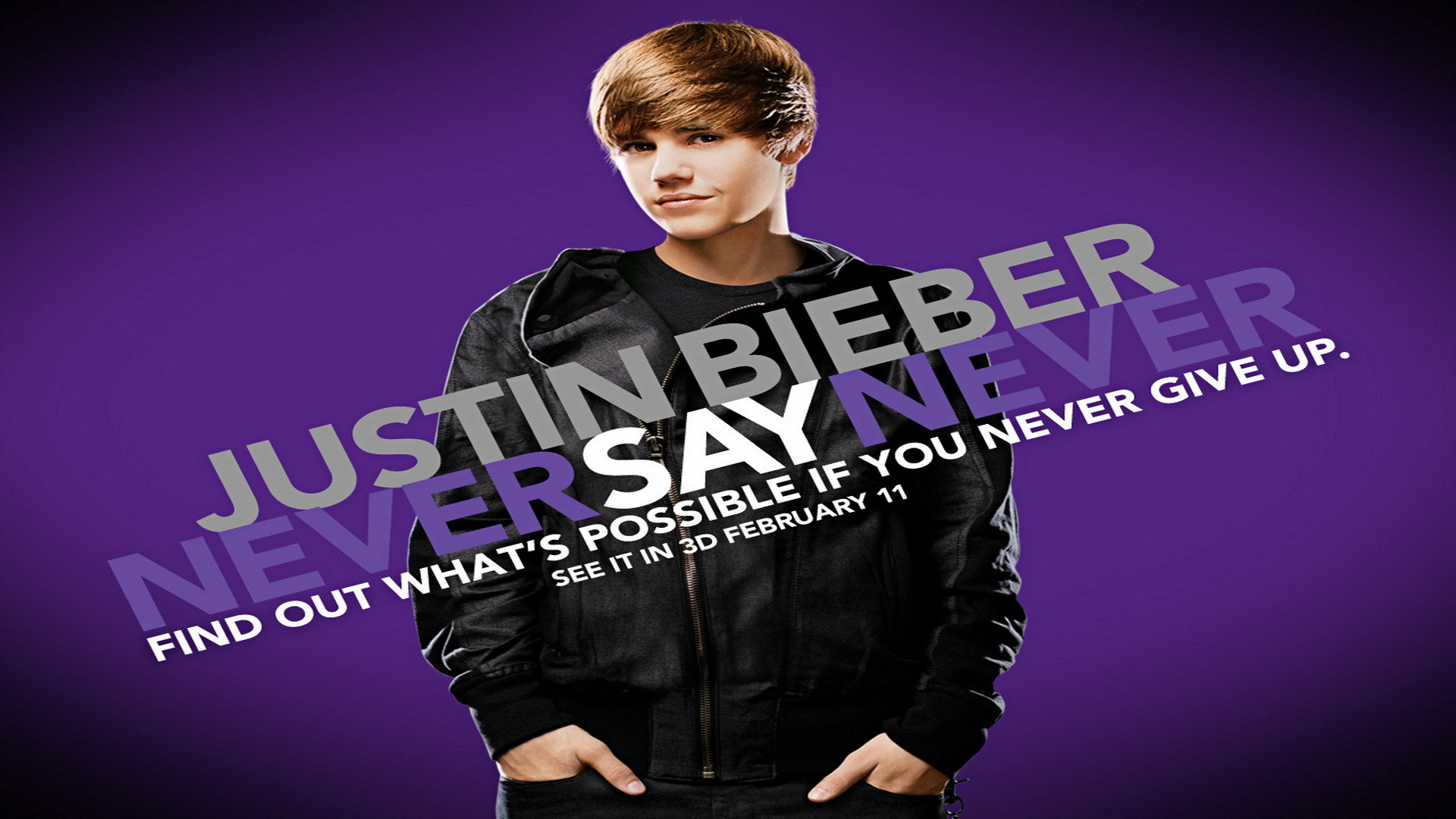 1920x1080 Never Say Never, Justin Bieber, Wallpaper