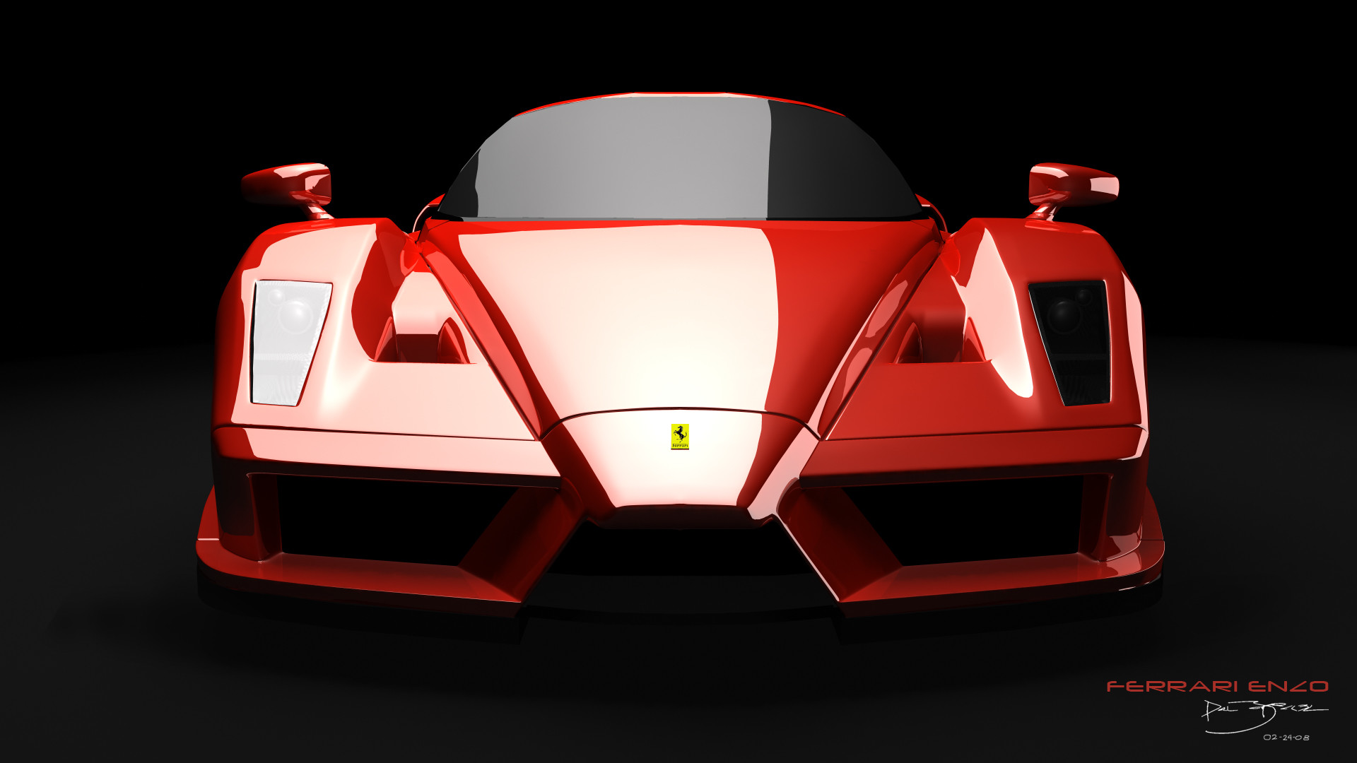 1920x1080 Download: Ferrari Enzo HD Wallpaper ...