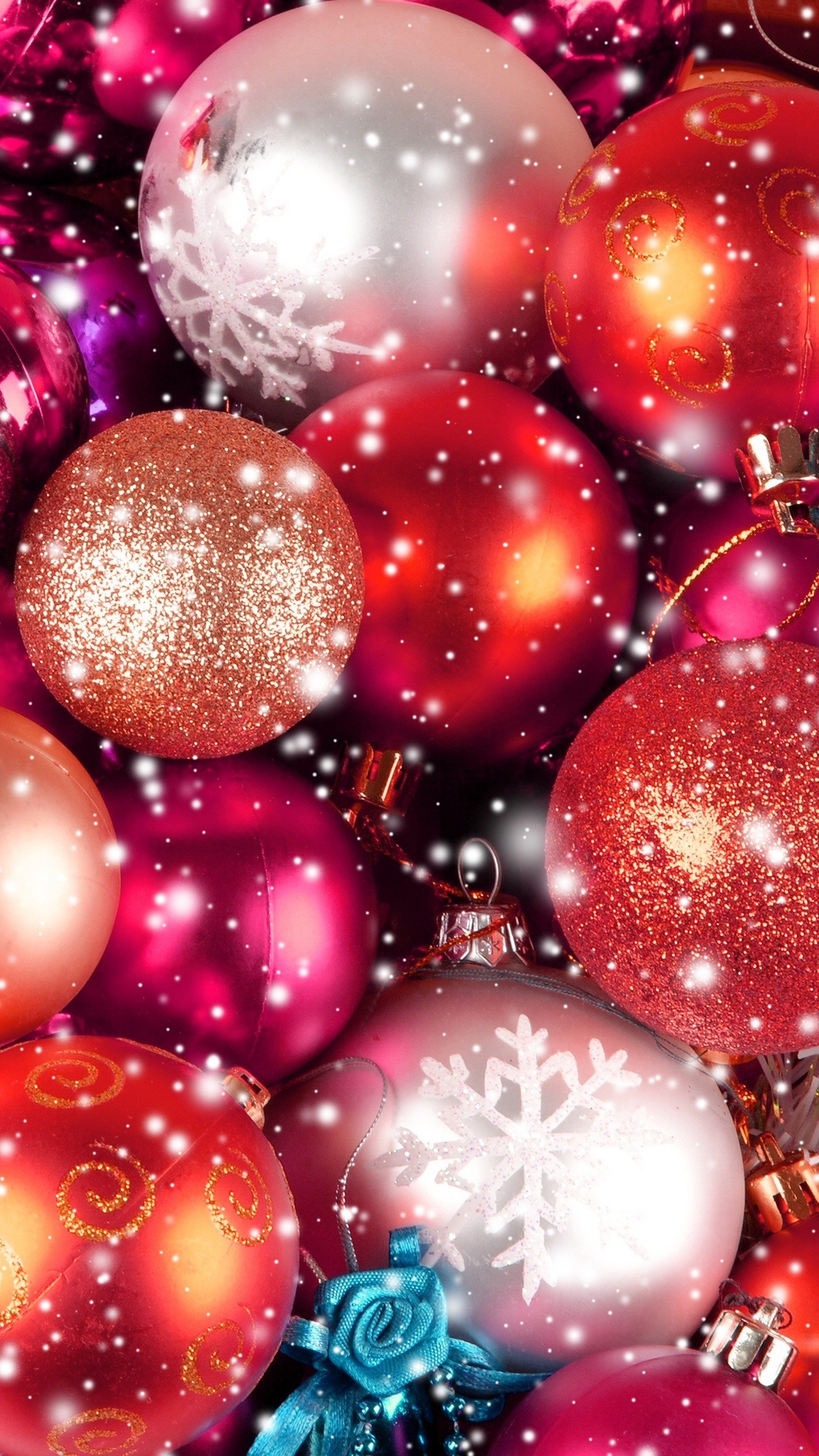 Glitter Christmas Wallpaper 57 Images
