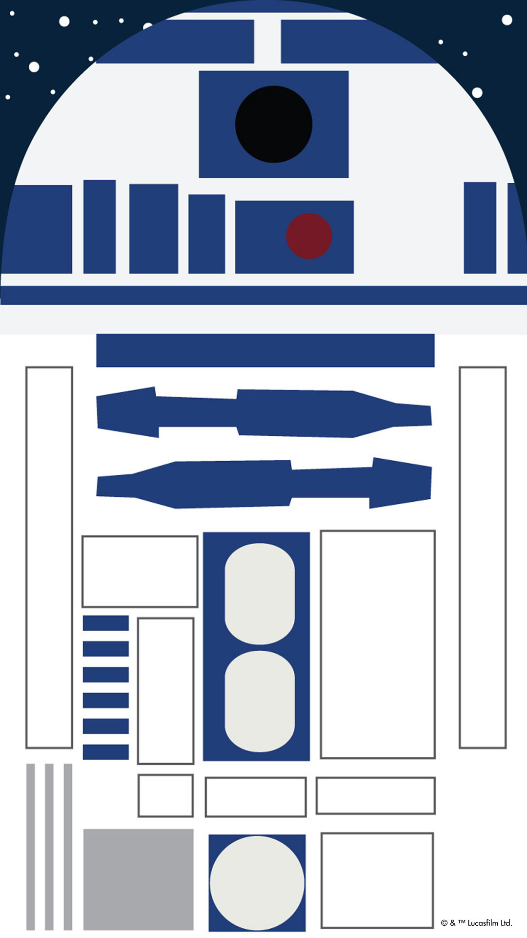 1080x1920 Star Wars iPhone R2D2 Wallpaper. iPhone 6 | iPhone 6 Plus
