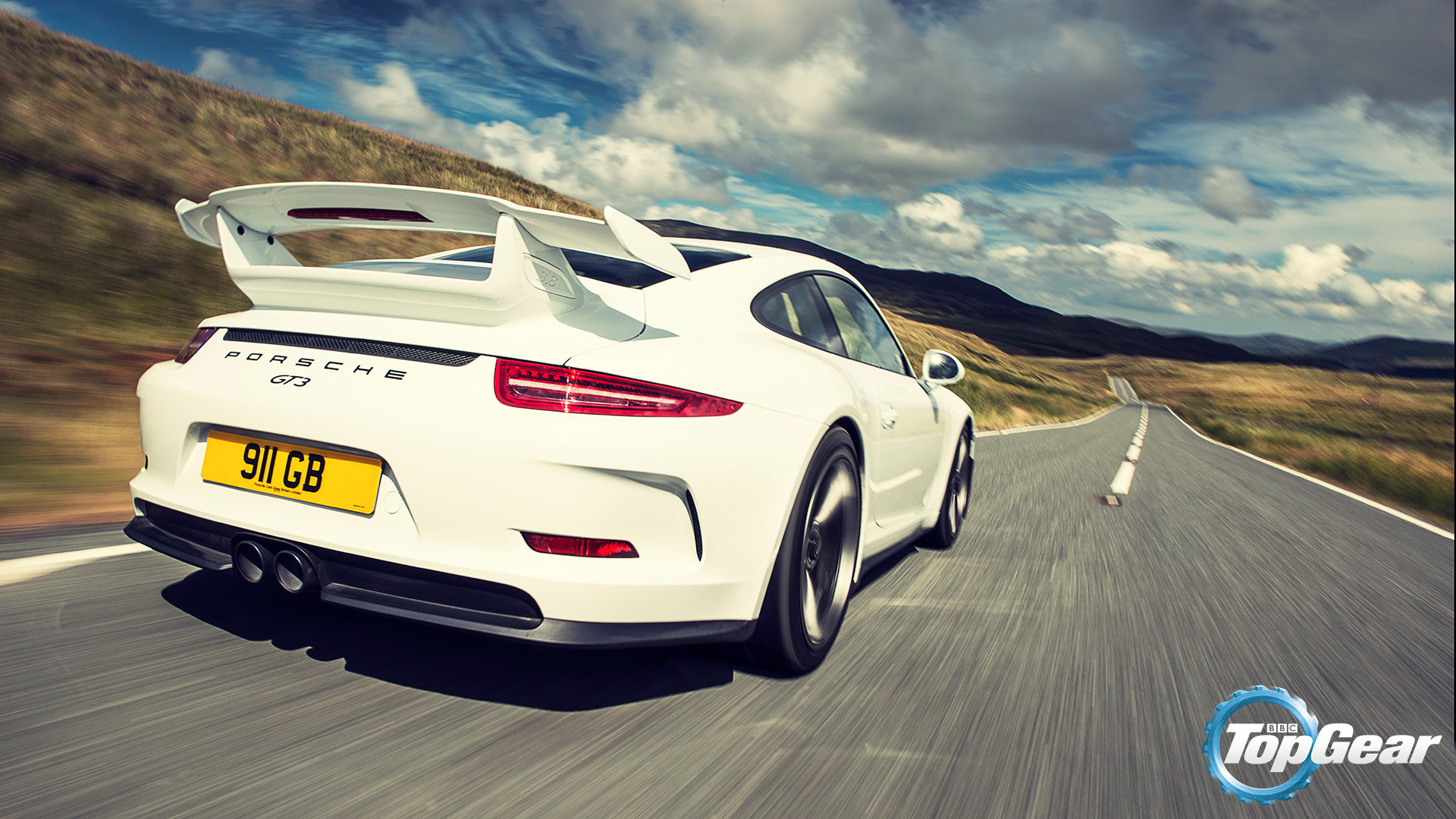 1920x1080 Wallpapers: Porsche GT3 - BBC Top Gear