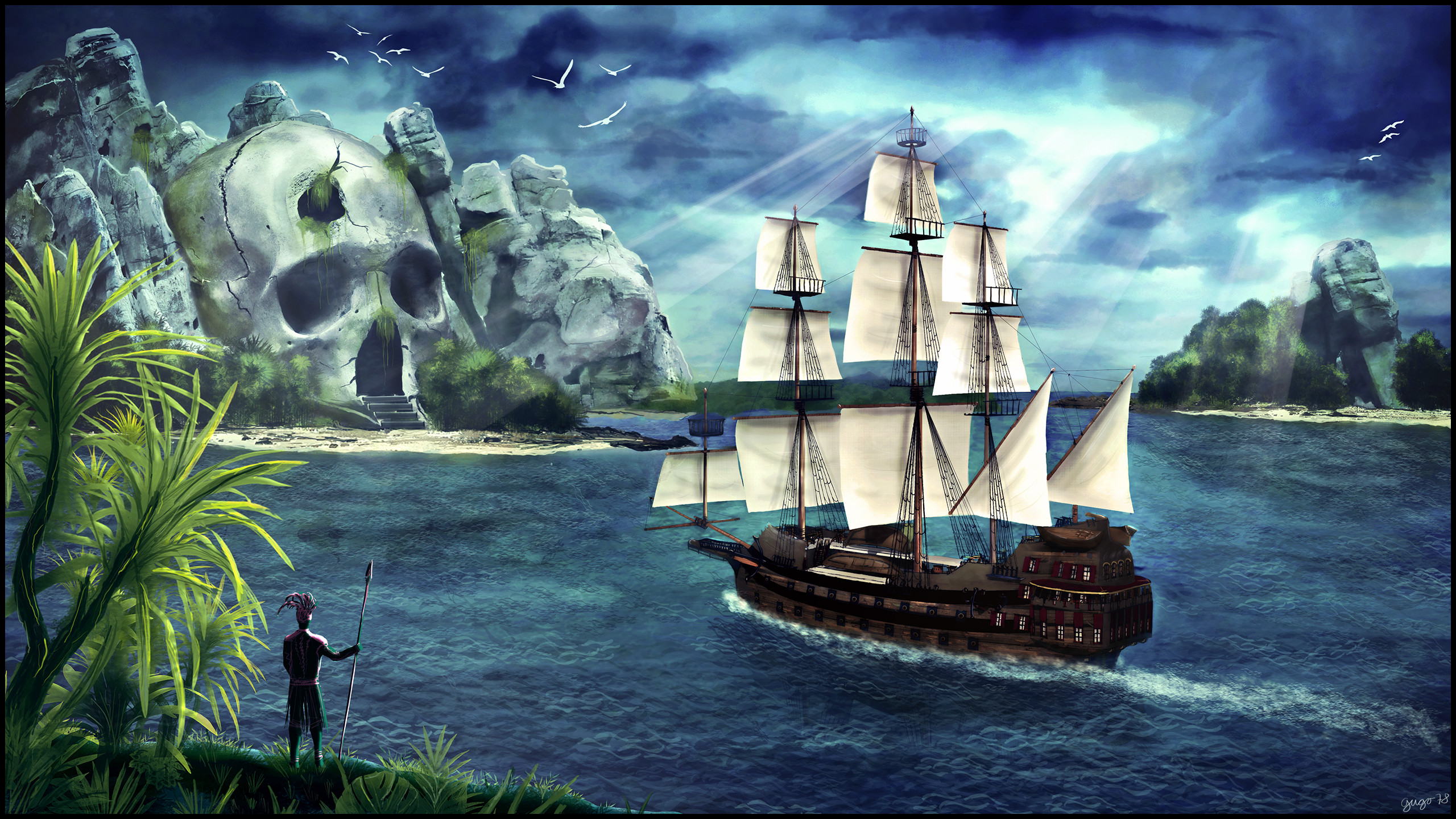 Pirate Ship Wallpaper HD (71+ images)