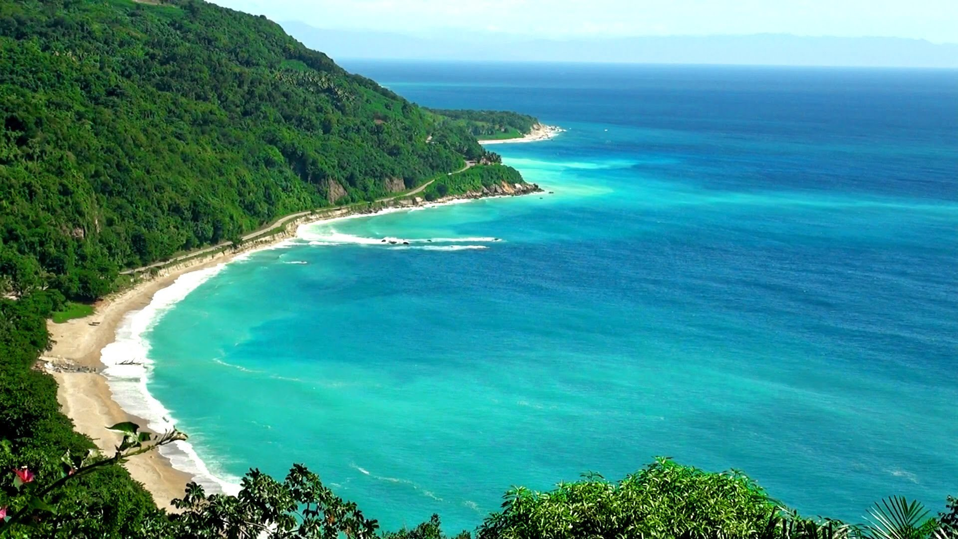 Caribbean Relaxation: Tropical Waves Screensavers And Wallpaper (55+ Images