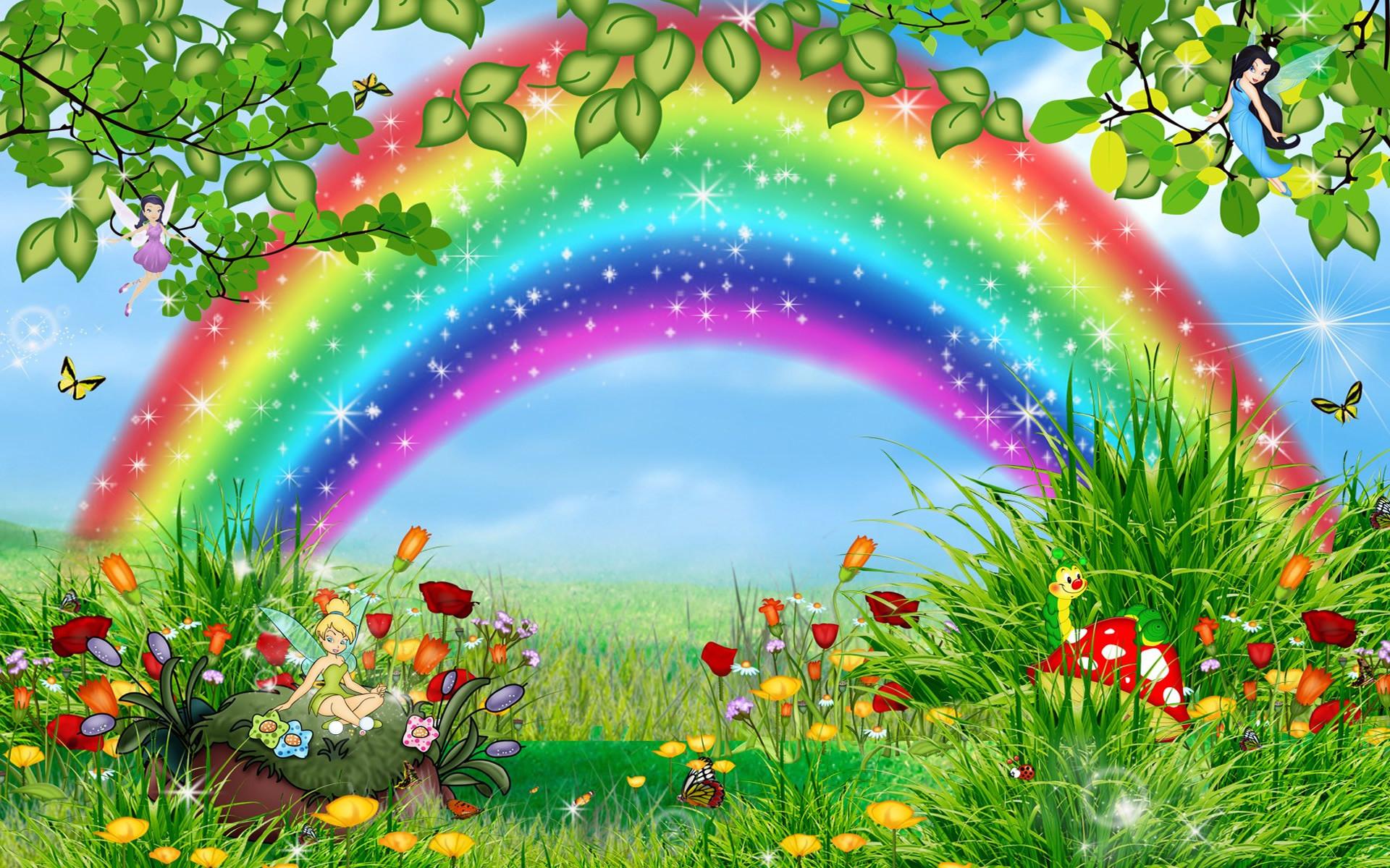 Beautiful Rainbow Wallpaper 49 Images