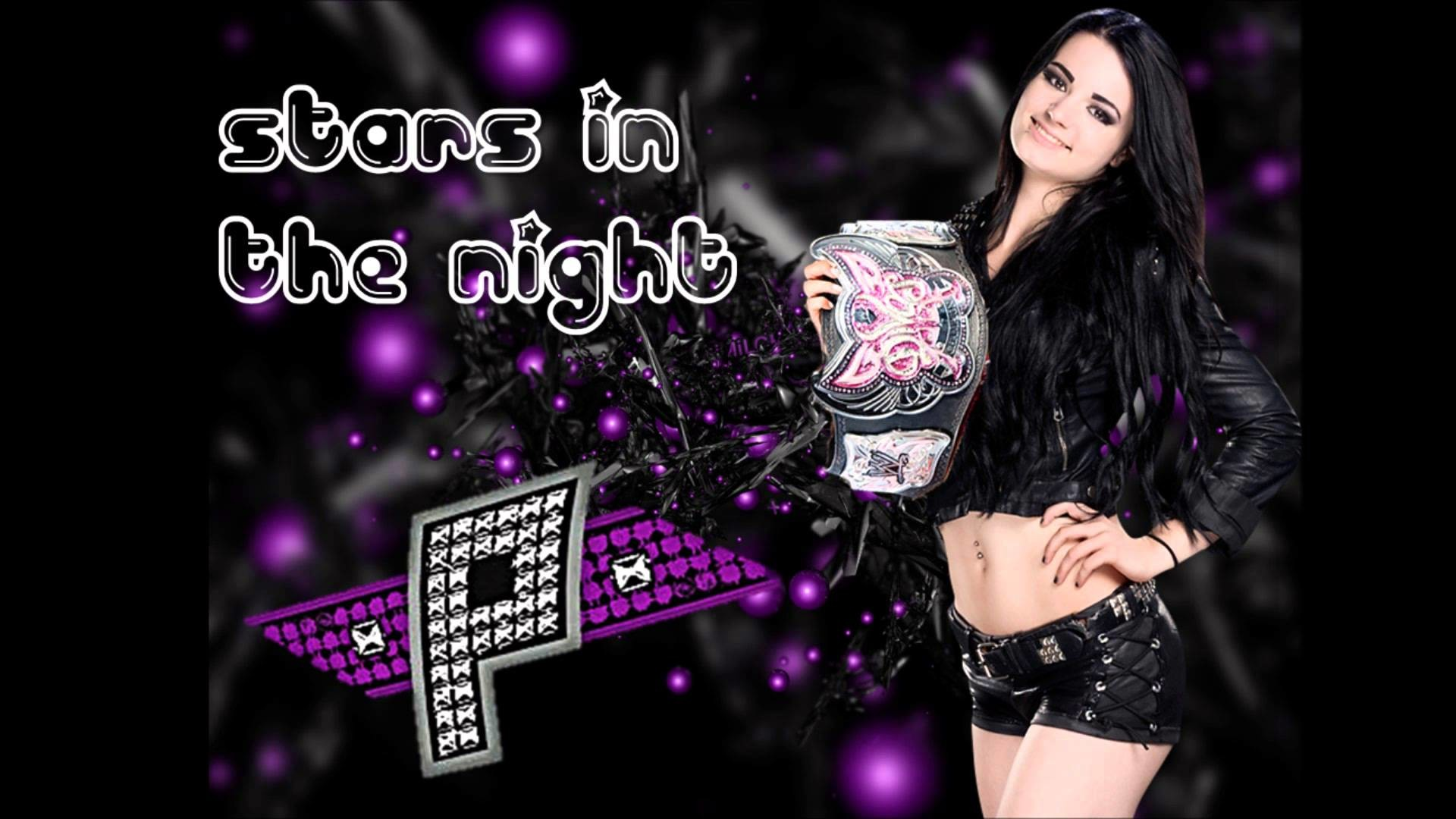 "1920x1080 2014: Paige 2nd WWE Theme Song -""Stars In The Night"" + Download Link -  YouTube"
