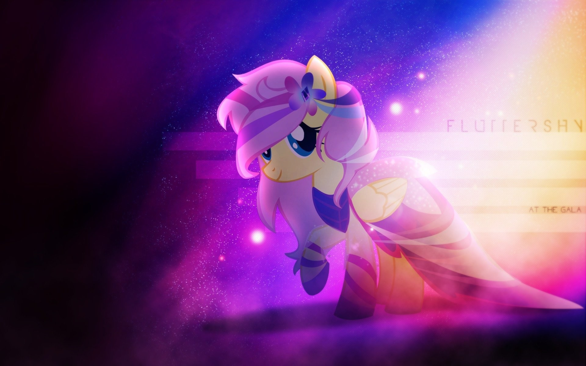 1920x1200 my little pony my little pony mlp fluttershy gala dress