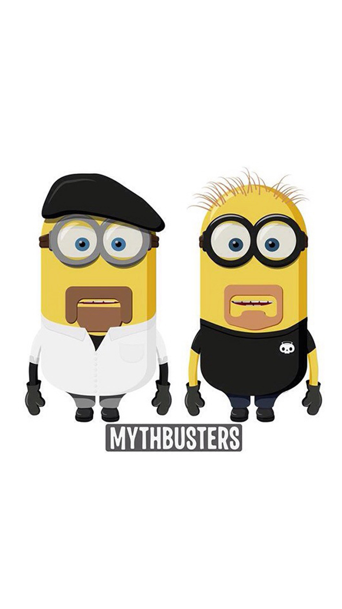 1440x2560 Mythbusters Minions Animation