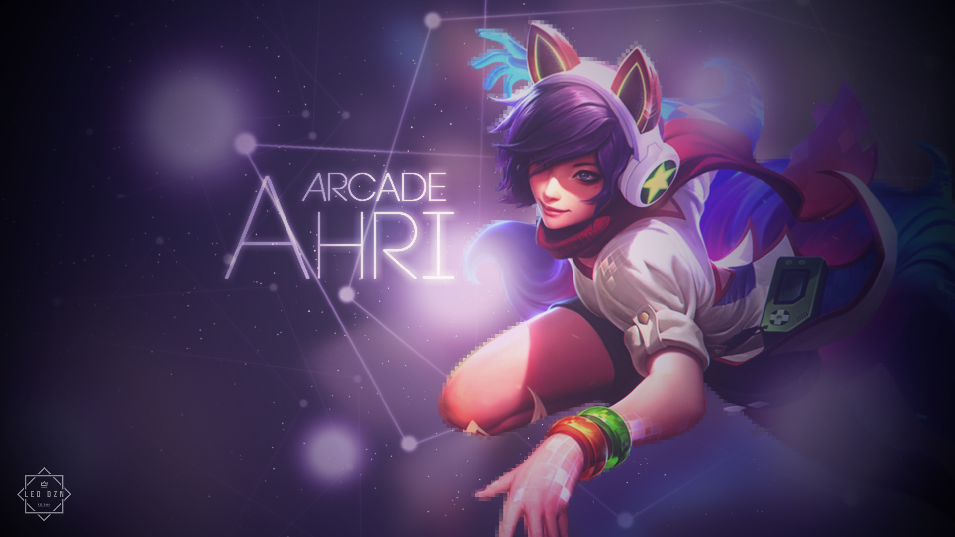 1920x1080 ... Arcade Ahri Wallpaper/2 by HfxKenji