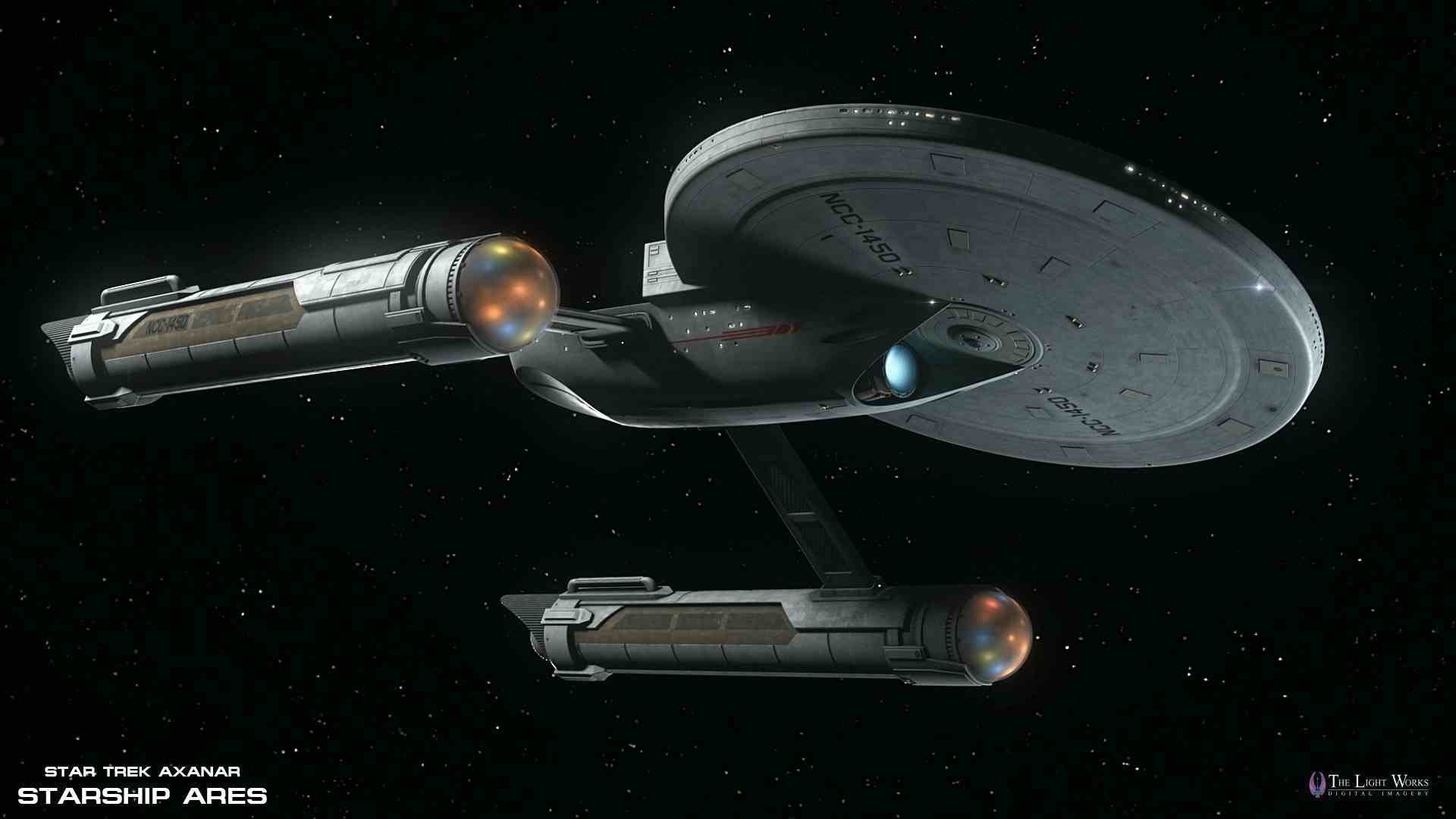 1920x1080 USS Ares from the upcoming Star Trek: Axanar fan film