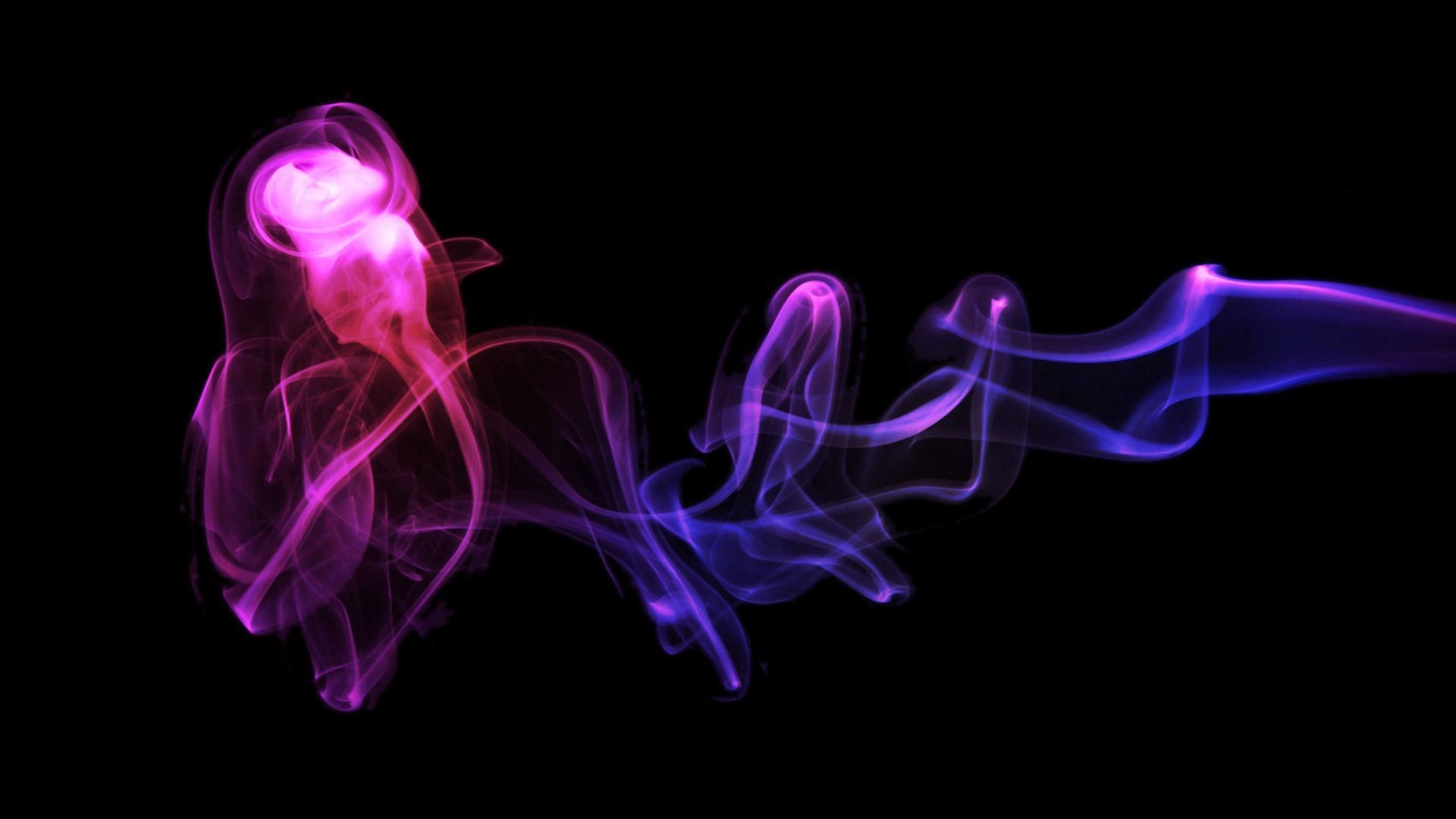 1920x1080 Neon Smoke Wallpaper 5055