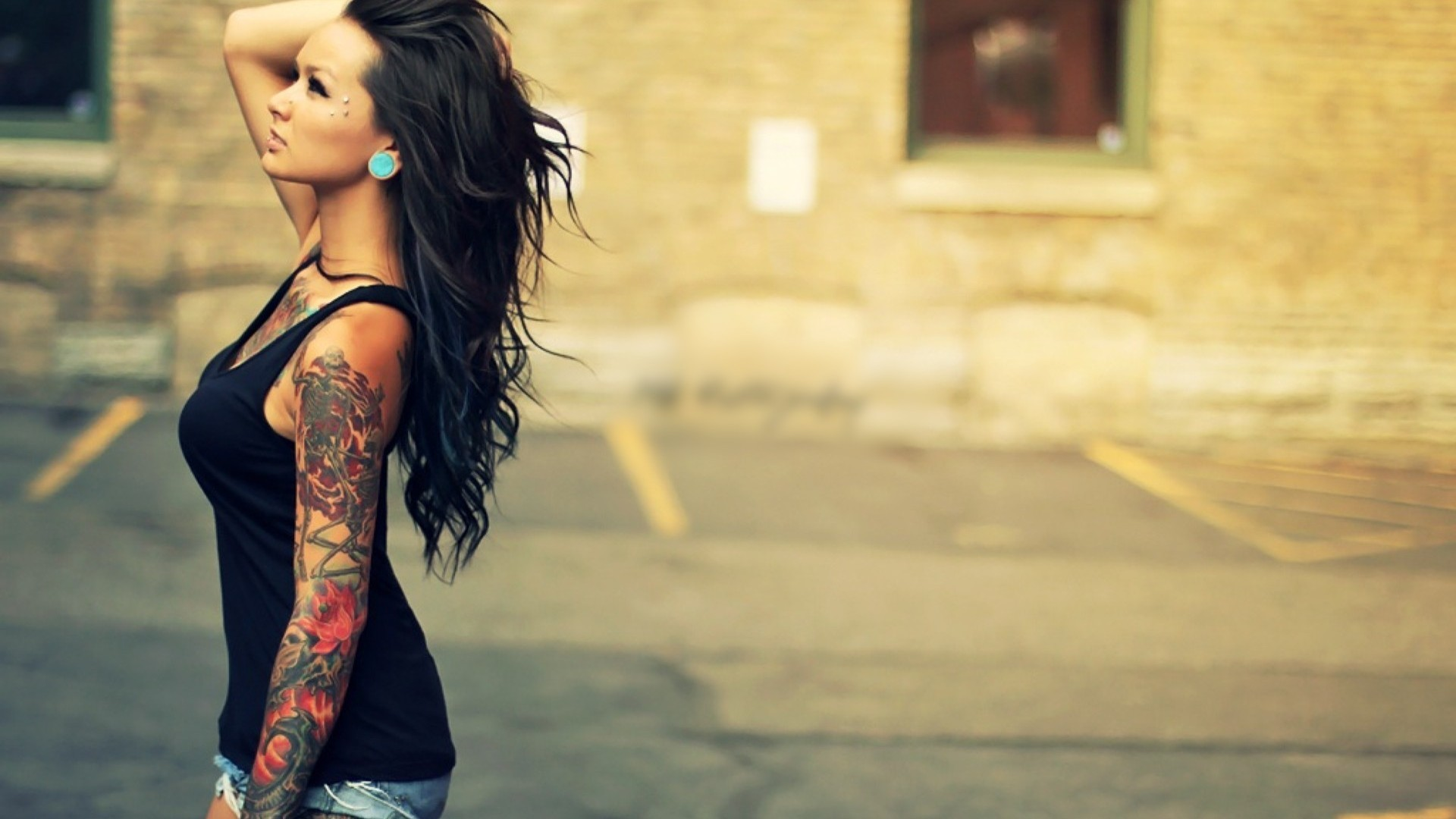 1920x1080 Tattoo Girl Wallpapers High Quality Download Free | HD Wallpapers |  Pinterest | Hd wallpaper, Wallpaper and Tattoo