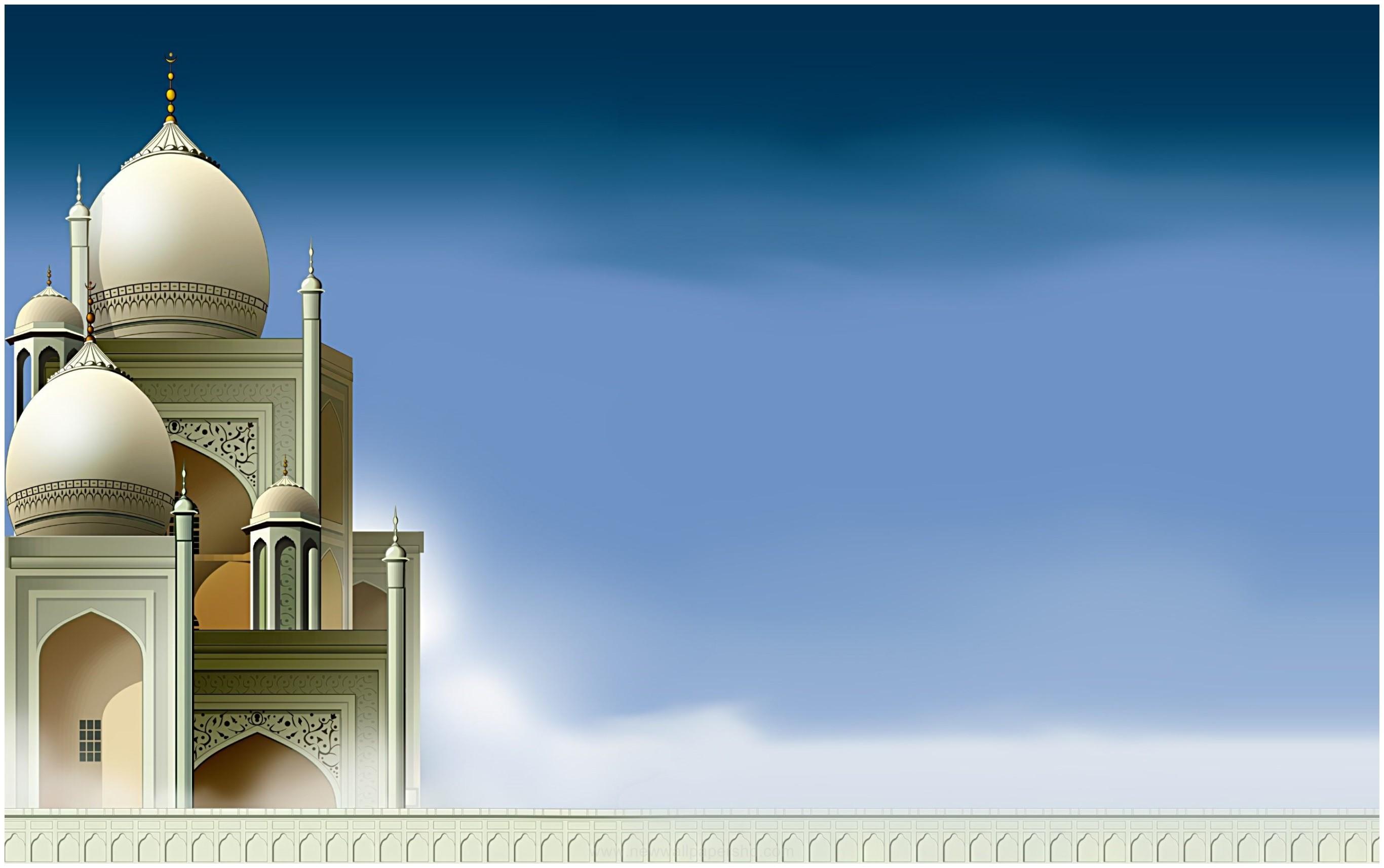 2732x1714 Beautiful Mosque Islamic Art HD Wallpaper