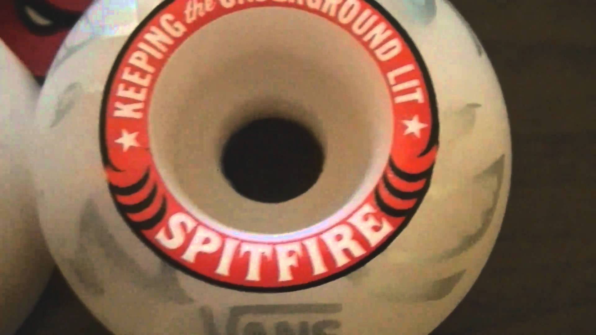 1920x1080 Vans Spitfire Collaboration Wheels Unboxing 52mm in HD